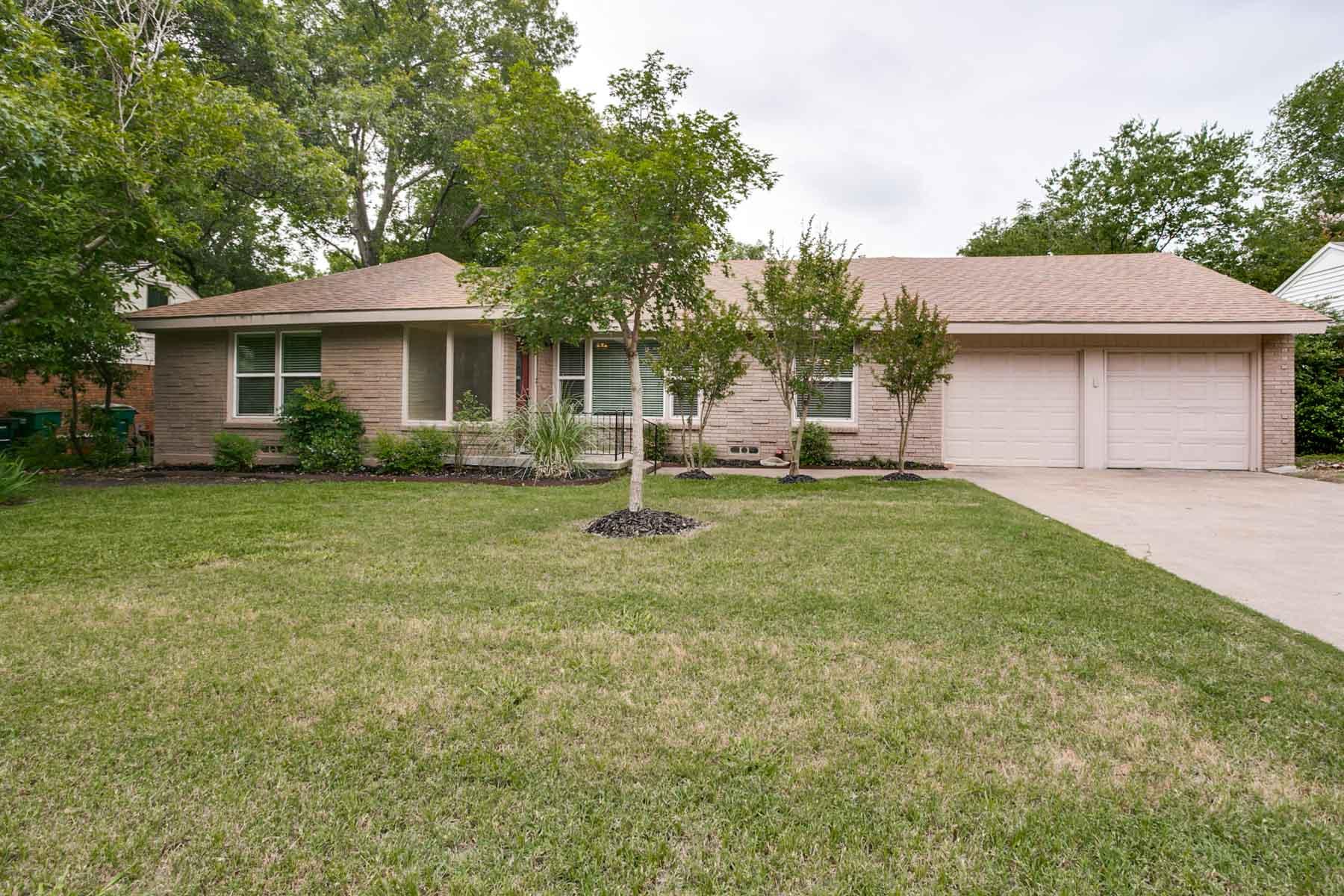 Vivienda unifamiliar por un Venta en Westcliff Gem 4616 Norwich Drive Fort Worth, Texas, 76109 Estados Unidos