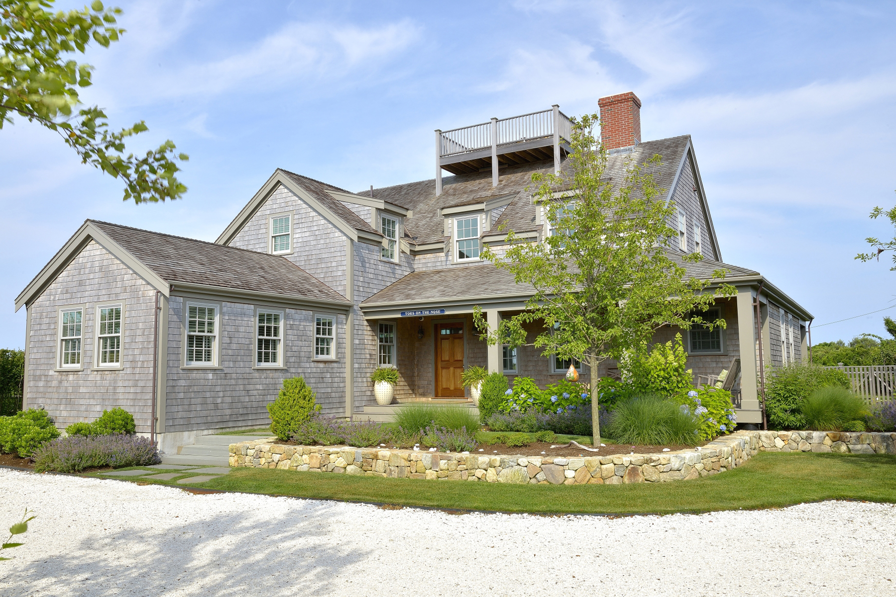 Single Family Home for Sale at Splendor in Squam 107 Squam Road Nantucket, Massachusetts 02554 United States