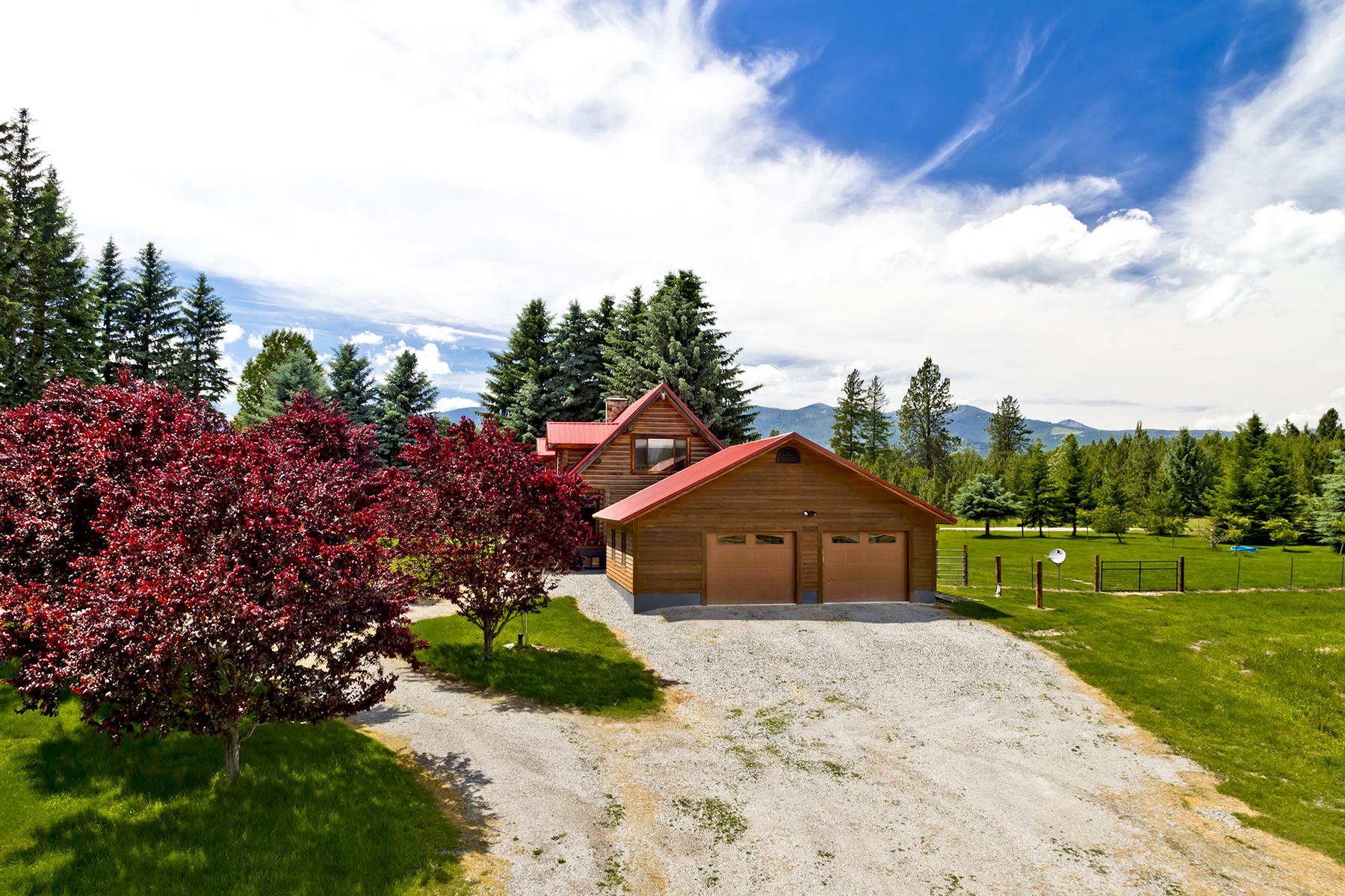 独户住宅 为 销售 在 Stunning 55 Acre Ranch in Selle Valley 3409 Selle Road 桑德波因特, 爱达荷州, 83864 美国