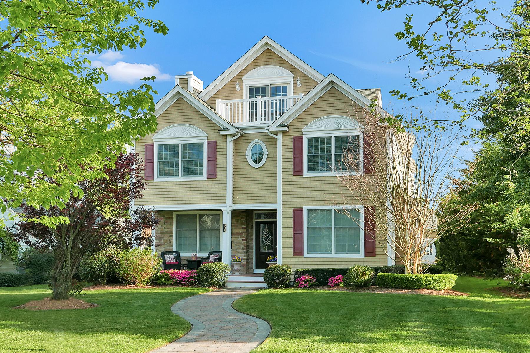 一戸建て のために 売買 アット Impressive Custom Built Home 308 Boston Boulevard Sea Girt, ニュージャージー, 08750 アメリカ合衆国