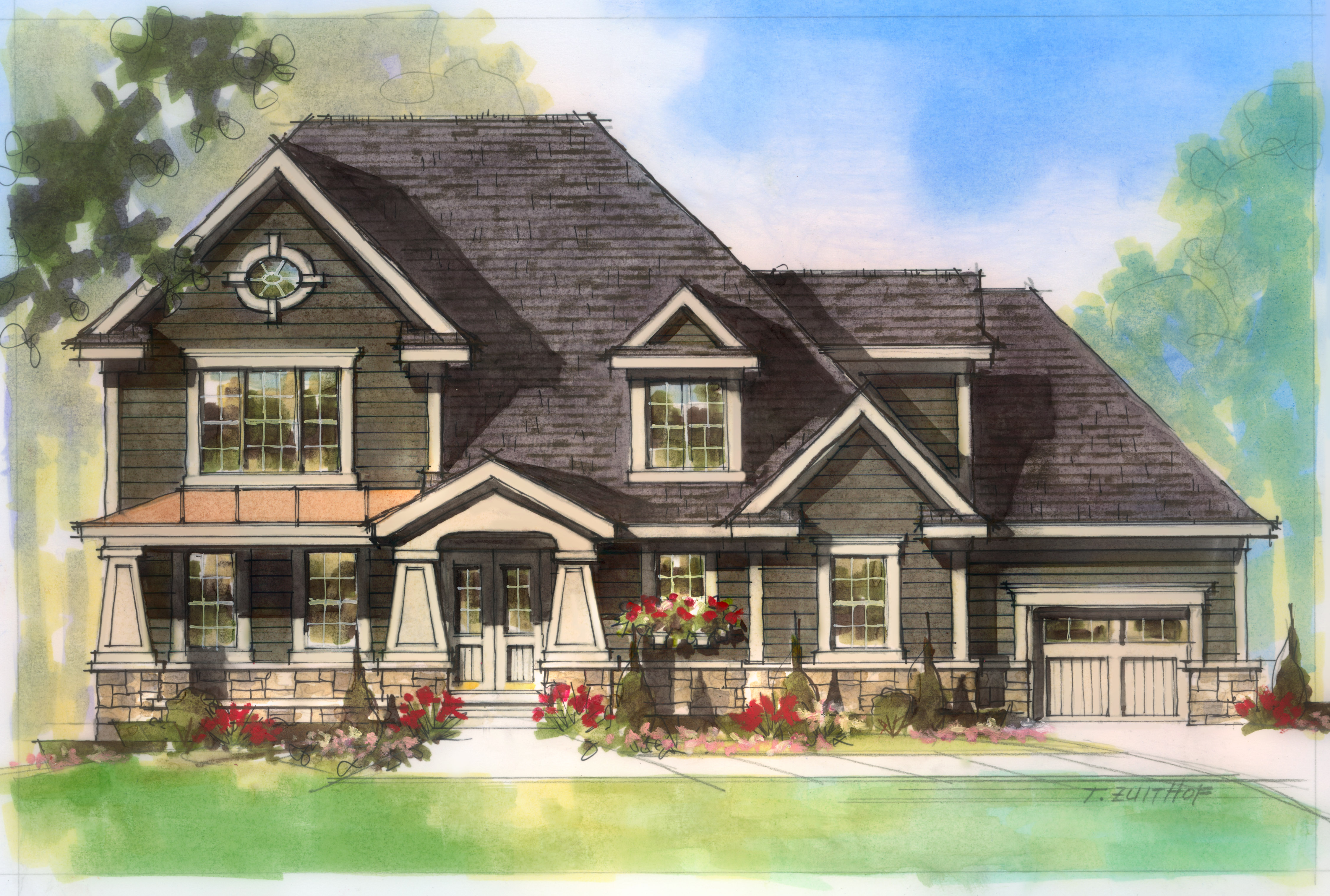 Single Family Home for Sale at 4943 Spring Farm Avenue (Proposed Build) Prospect, Kentucky 40059 United States
