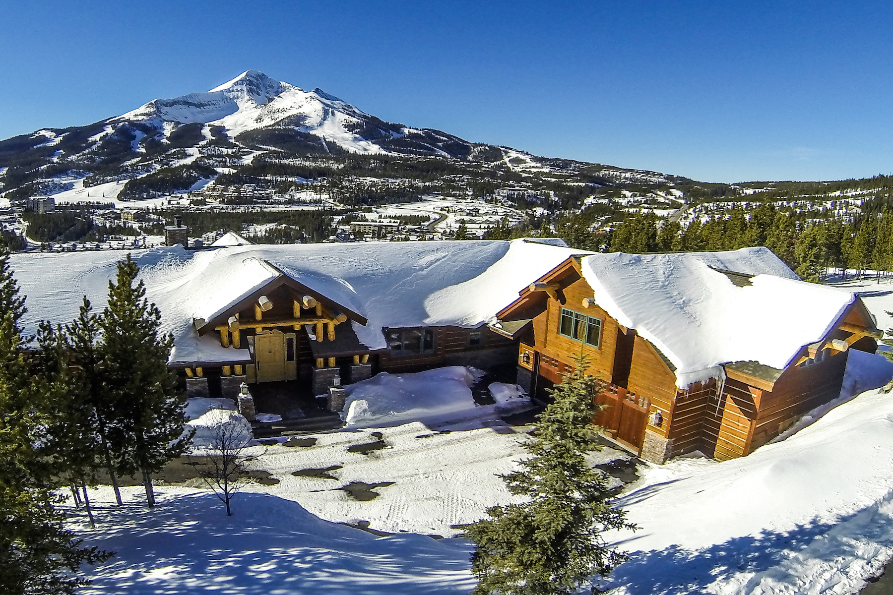 Single Family Home for Sale at Summit View Estate 34 Summit View Drive Big Sky, Montana, 59716 United States