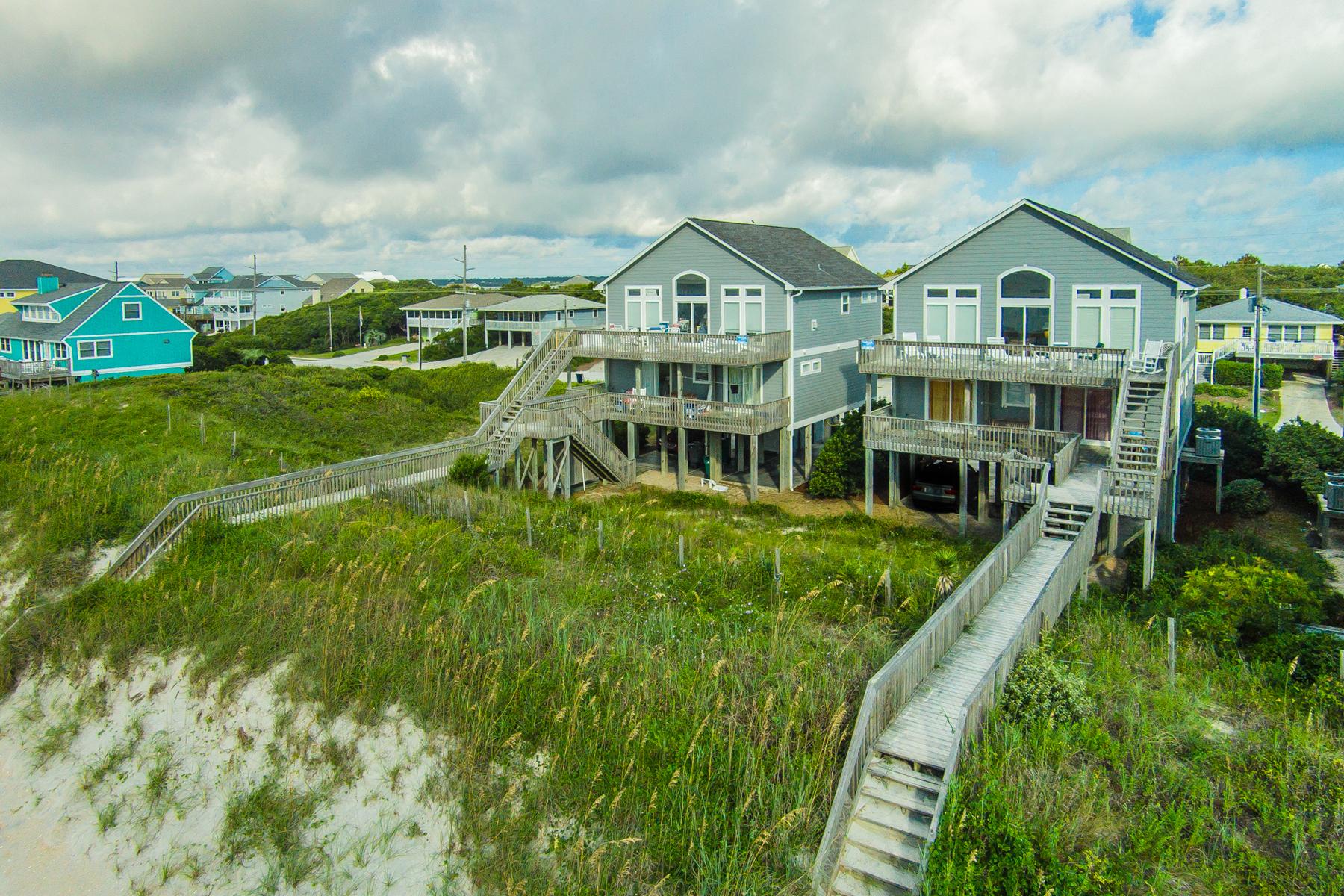 Moradia para Venda às Hana Kai - Oceanfront Dream 1622 South Shore Drive Surf City, Carolina Do Norte 28445 Estados Unidos