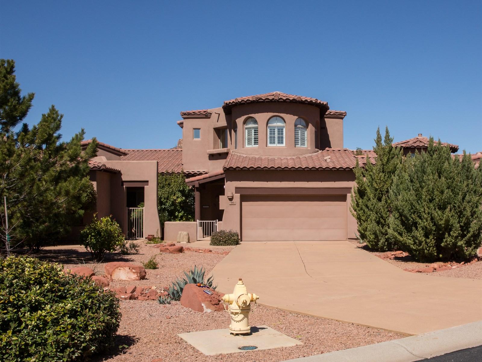 Maison unifamiliale pour l Vente à Perfect Sedona Getaway 80 Rio Sinagua Sedona, Arizona 86351 États-Unis
