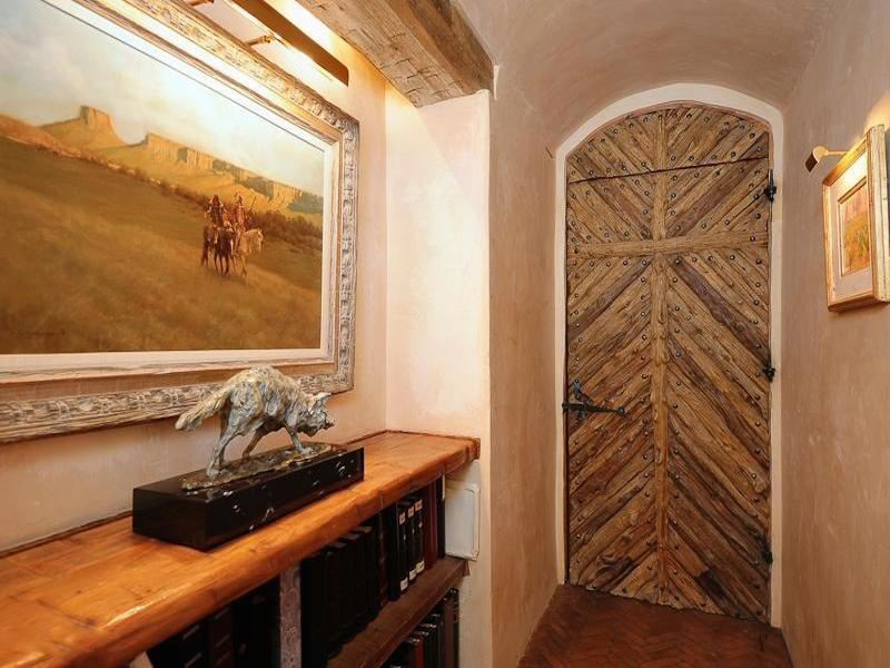 Property Of Stunningly Original 'Hacienda Rosetta Marie' in Guard-Gated 'The Canyons'