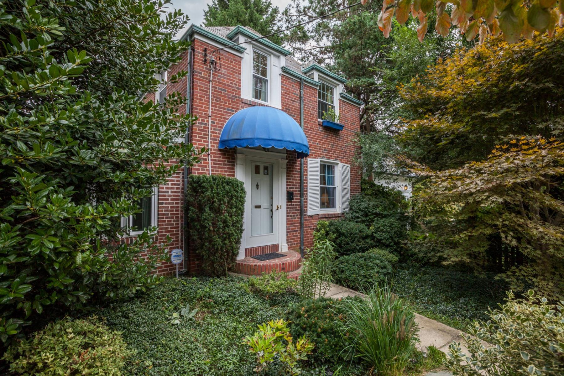Single Family Home for Sale at 4613 Bayard Boulevard, Bethesda 4613 Bayard Blvd Bethesda, Maryland 20816 United States