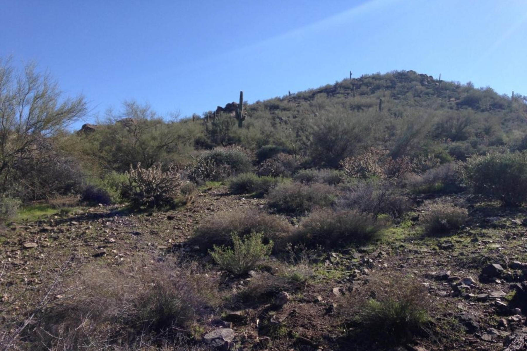 sales property at Rare opportunity to live on Cave Creek's landmark Black Mountain.