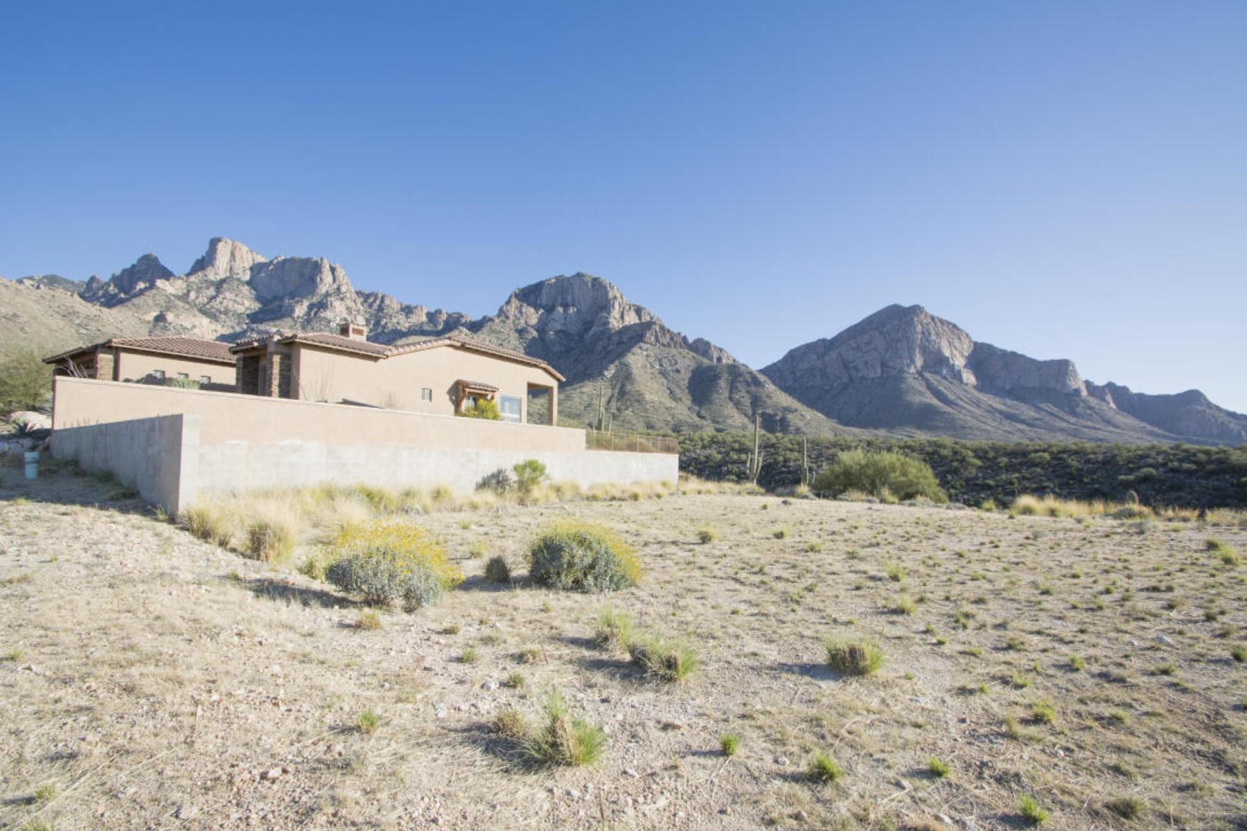 토지 용 매매 에 Wonderful Opportunity to Build The Dream House 2440 E Della Roccia Court Oro Valley, 아리조나, 85737 미국