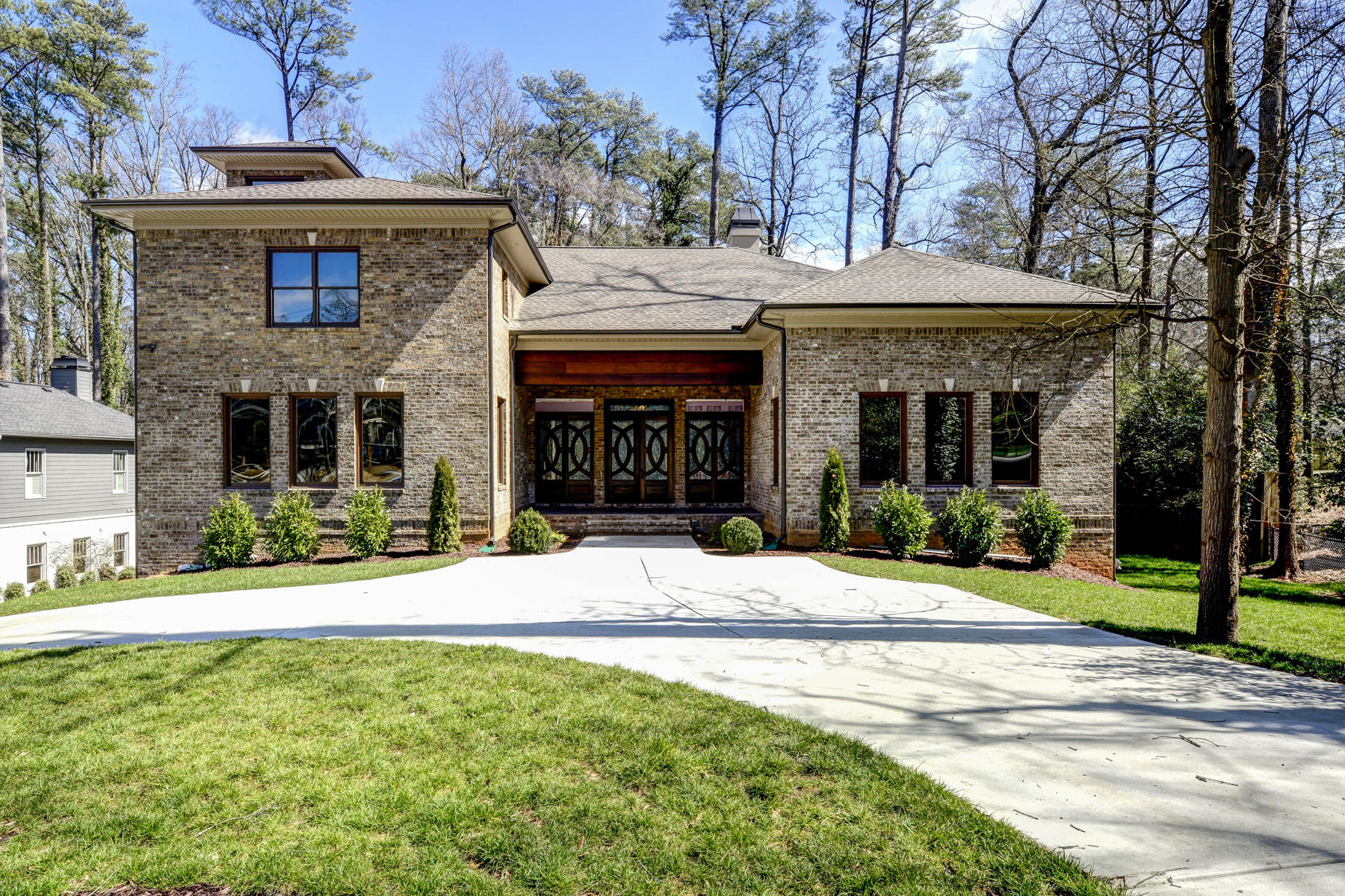 sales property at Sprawling New Home In Morningside With Resort-style Backyard
