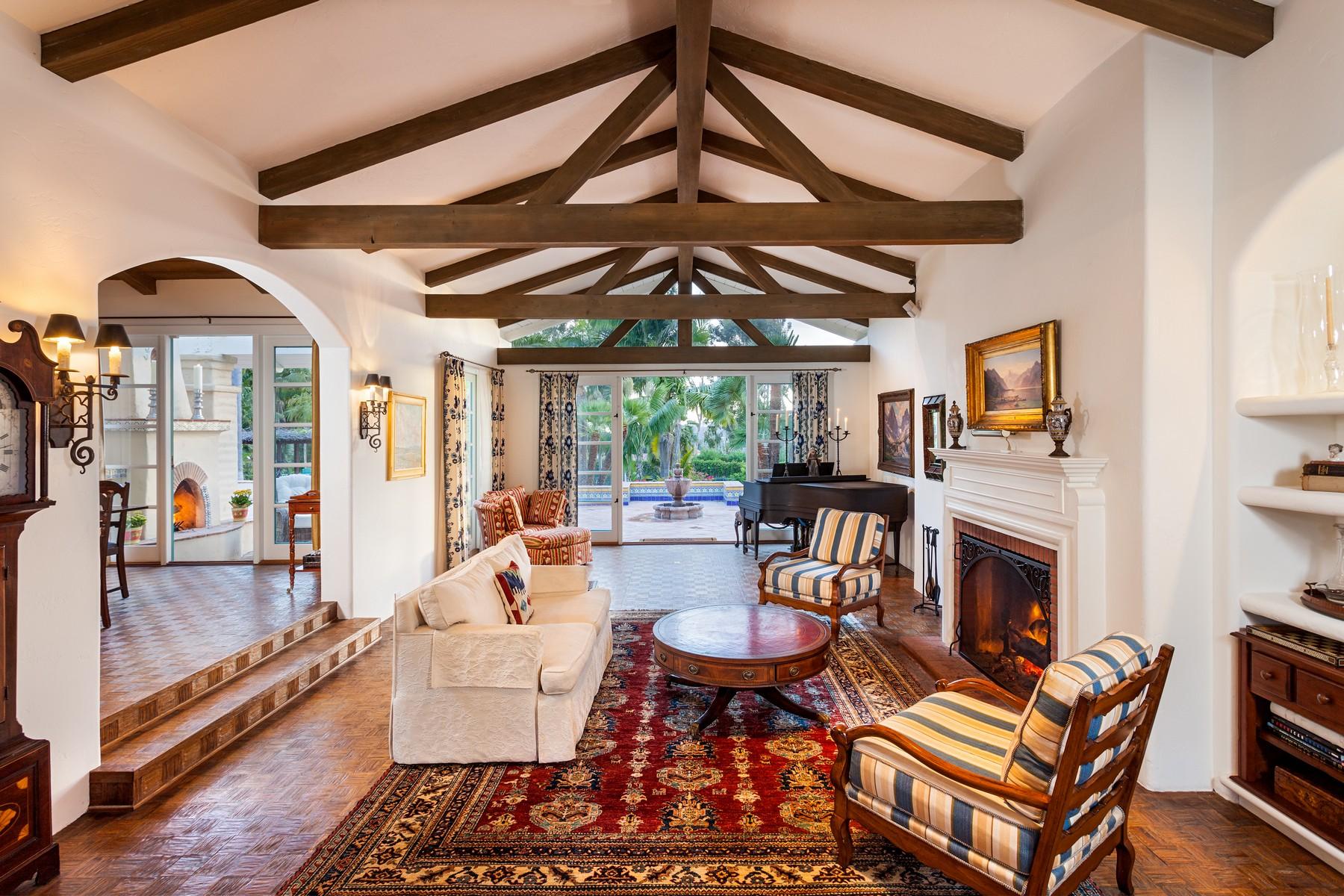 Single Family Home for Sale at 5109 El Mirlo Rancho Santa Fe, California 92067 United States