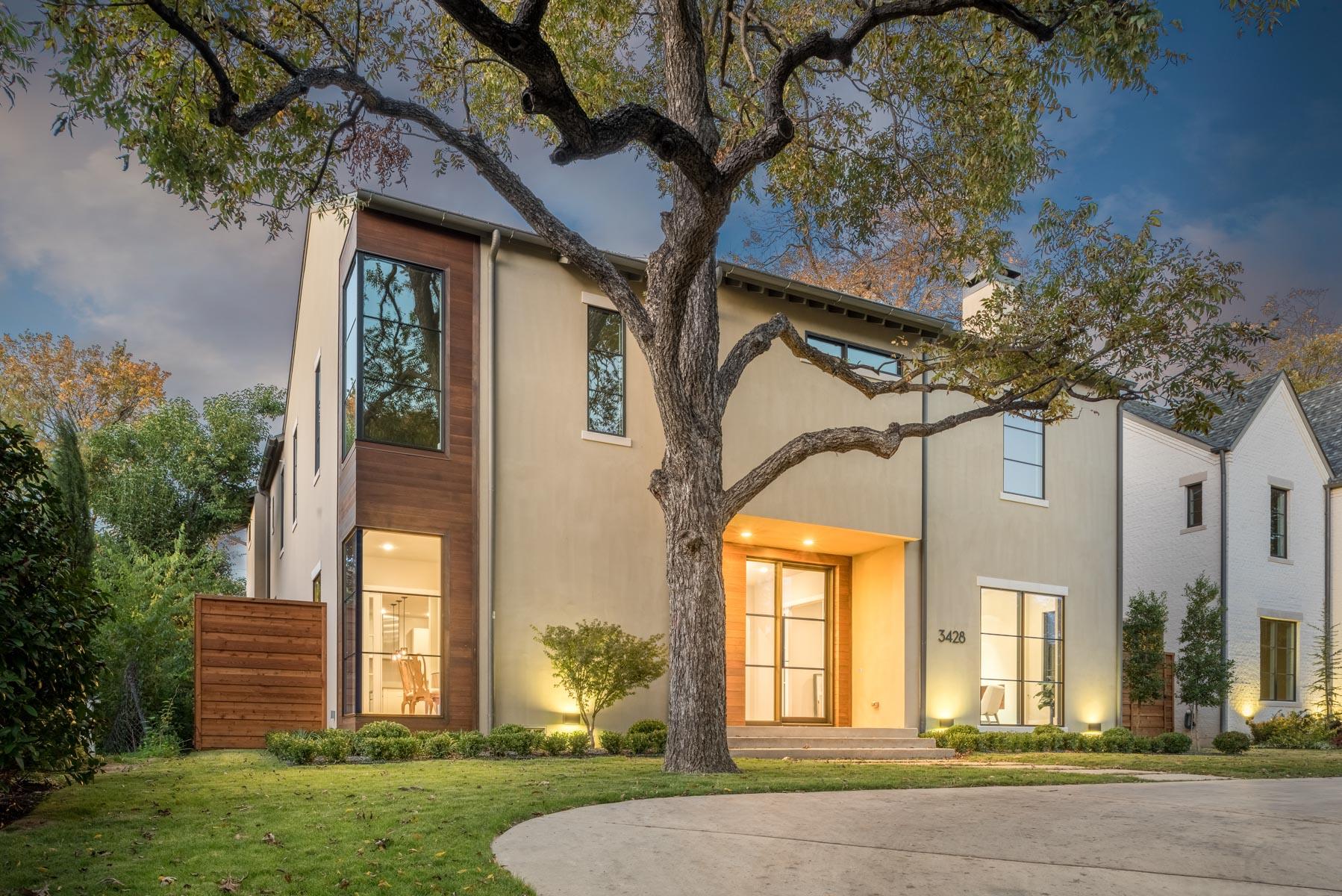 Maison unifamiliale pour l Vente à Modern Luxury 3428 University Boulevard Dallas, Texas 75205 États-Unis