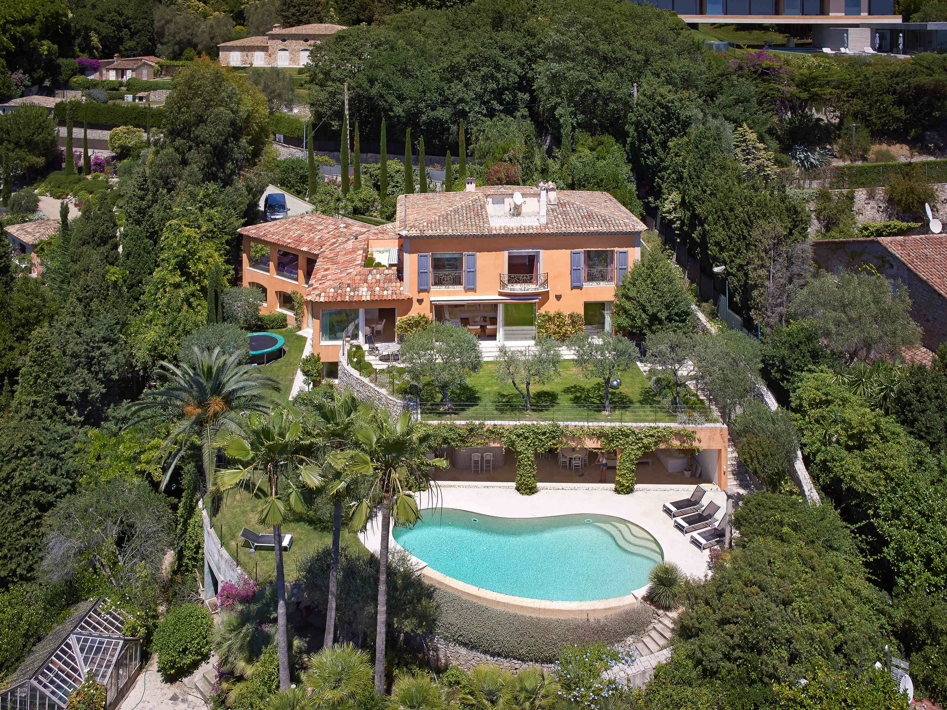 Single Family Home for Sale at Luxury Villa for sale in Cannes La Californie South of France French riviera Cannes, Provence-Alpes-Cote D'Azur 06400 France