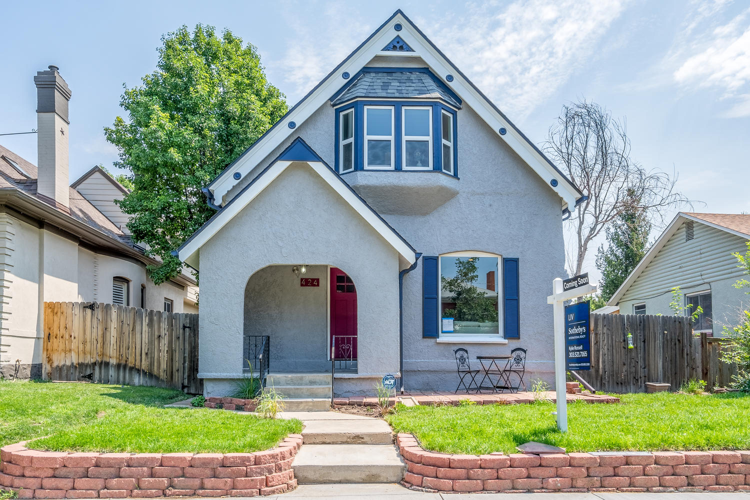 Single Family Home for Sale at Hip and Historic Chic Victorian 424 Clarkson Street Denver, Colorado, 80218 United States