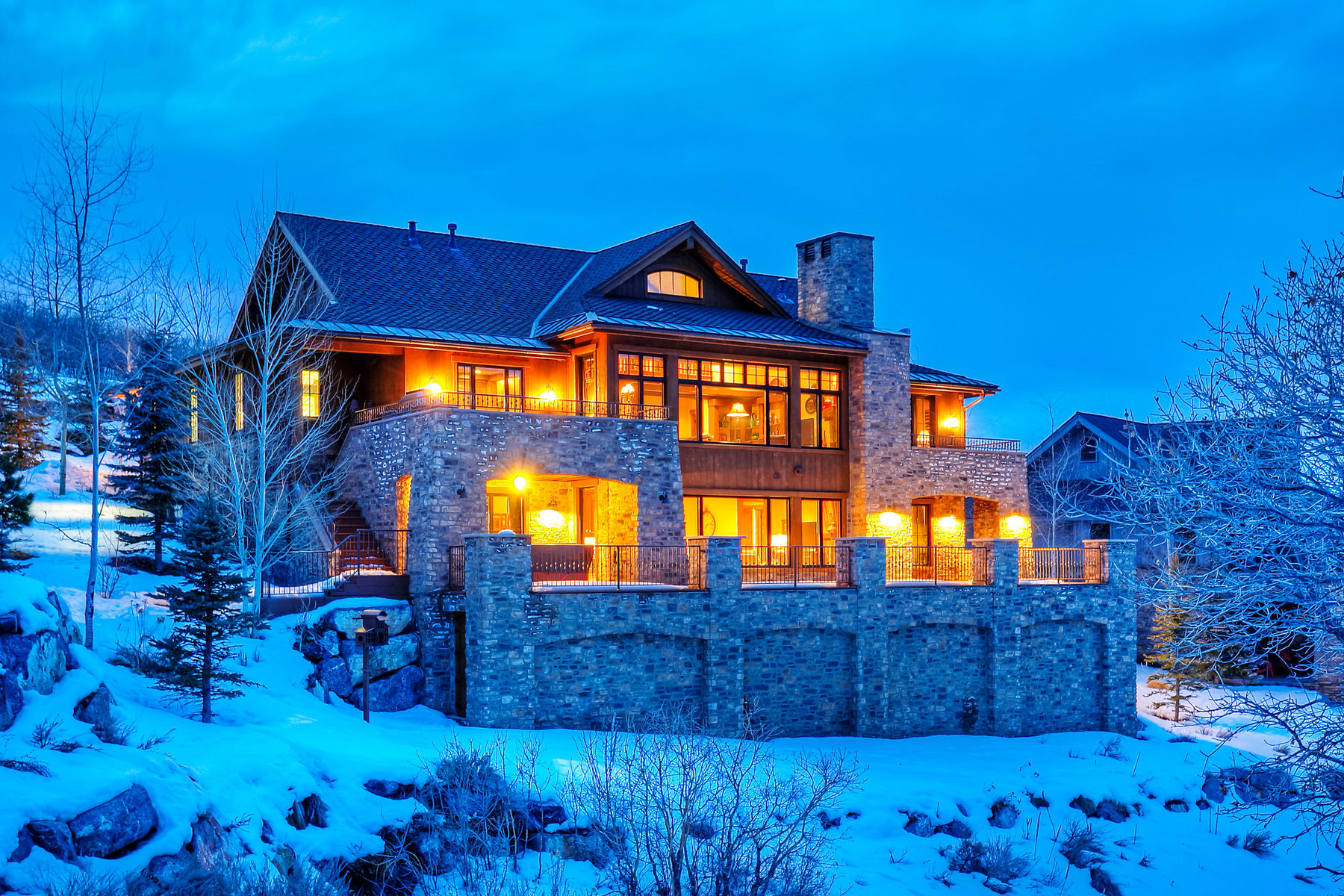 Single Family Home for Sale at Pristine Upgraded and Expanded Promontory Golf Cabin Offered Furnished! 8787 N. Ranch Club Ct Park City, Utah 84098 United States
