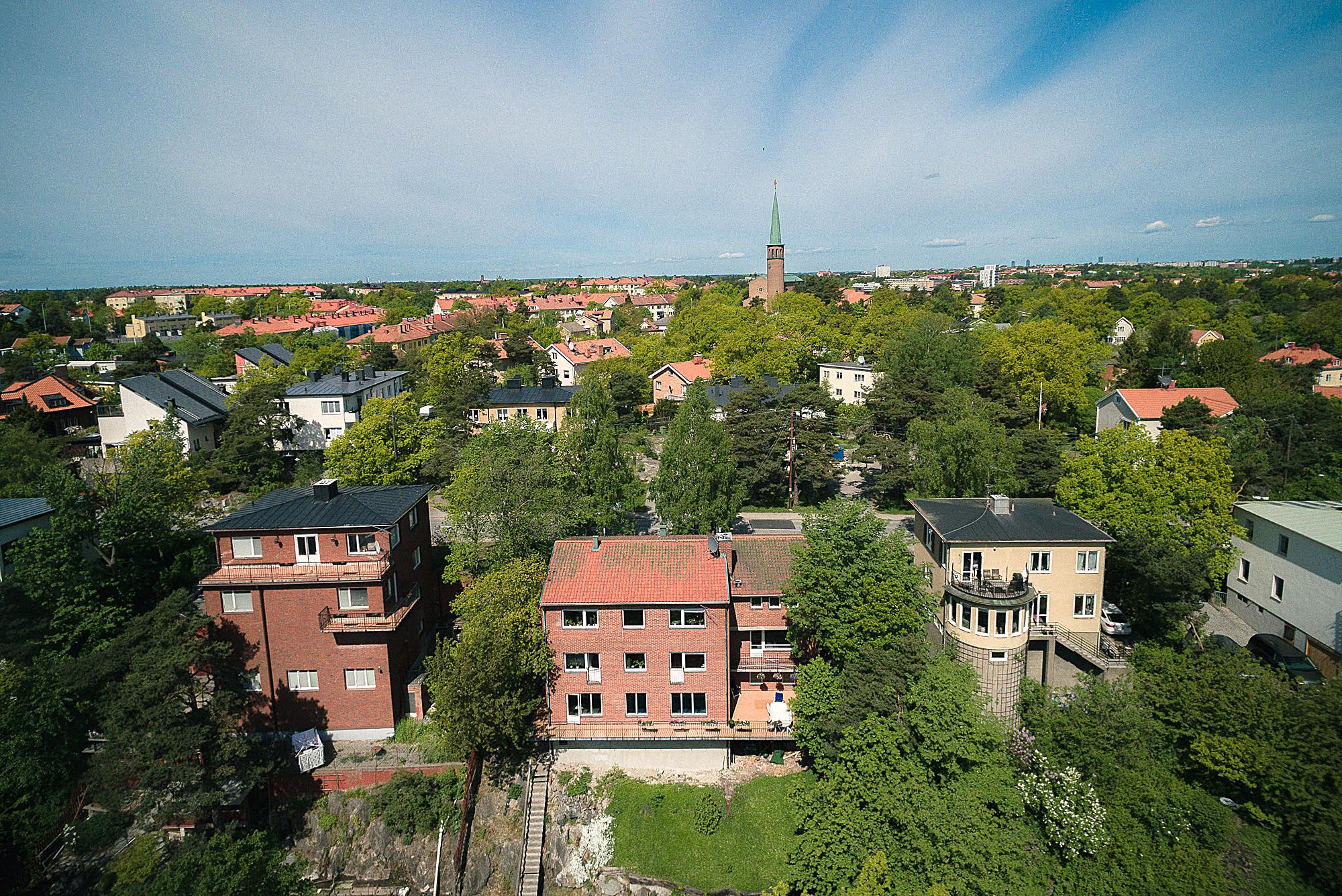 Nhà ở một gia đình vì Bán tại 1960´s villa with lake views and an indoor pool Stockholm, Stockholm Thụy Điển