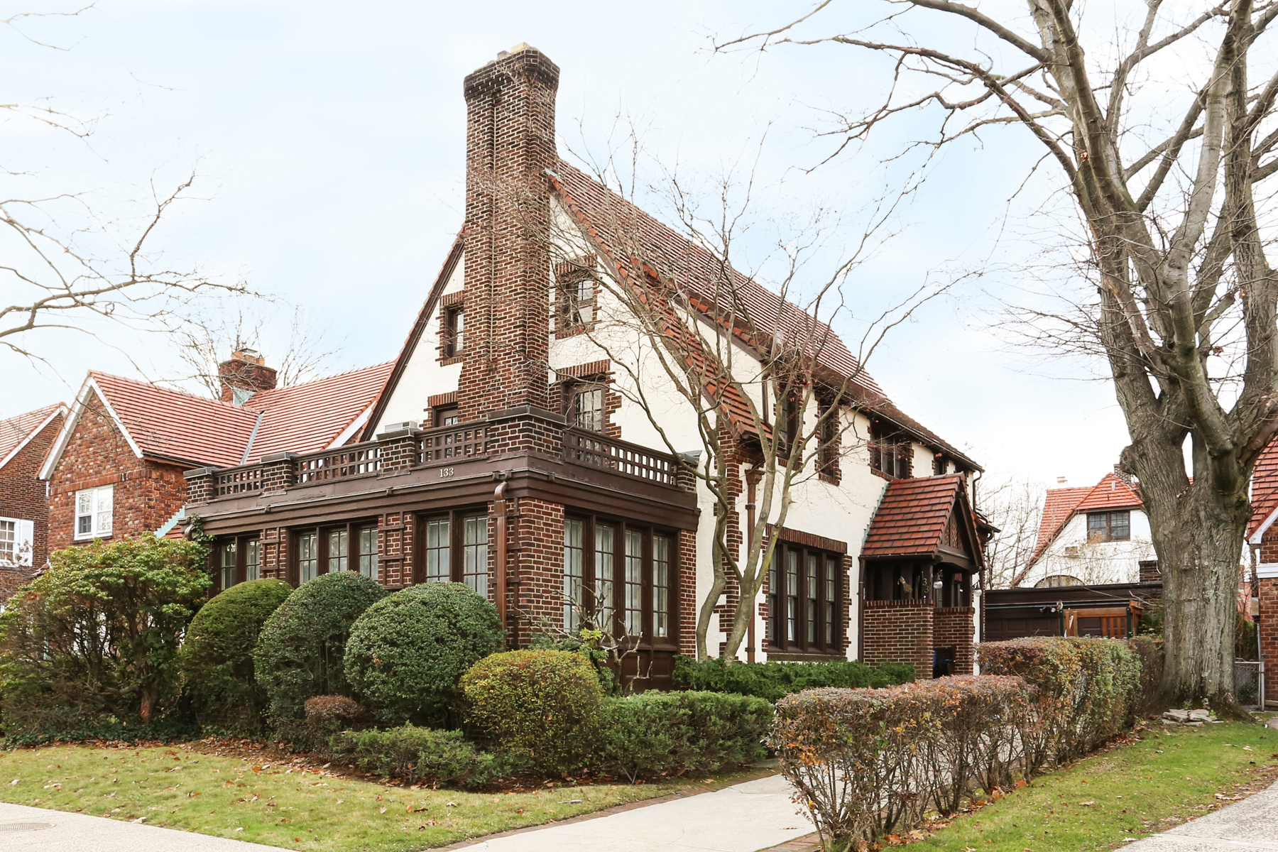 """Single Family Home for Sale at """"CENTER HALL COLONIAL IN PRIME LOCATION"""" 133 Ascan Avenue, Forest Hills Gardens, Forest Hills, New York 11375 United States"""