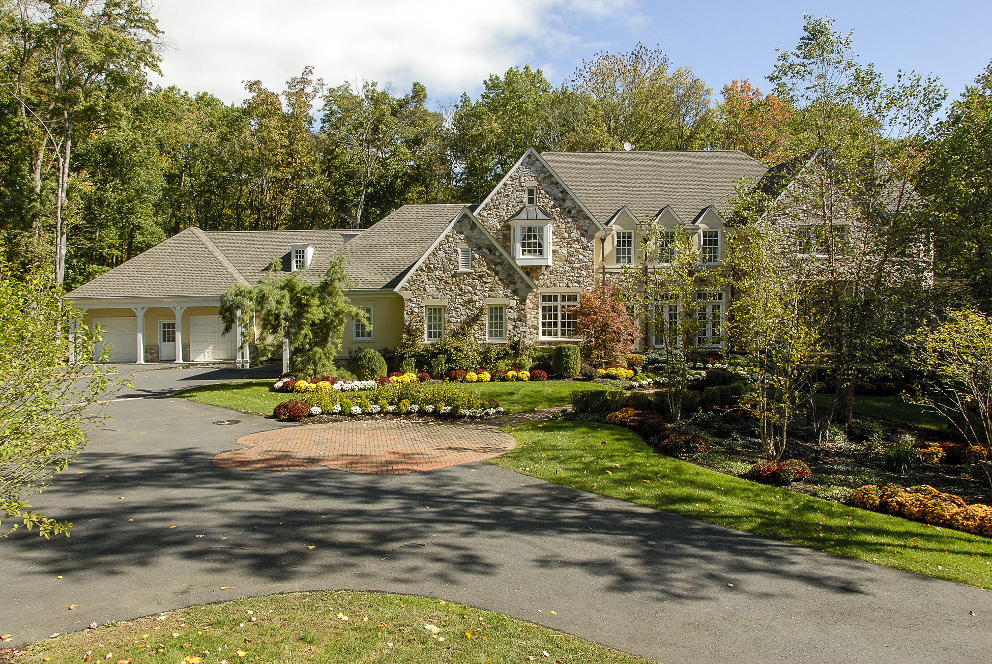sales property at Magnificent Manor Home in Princeton's Coveted Rushbrook