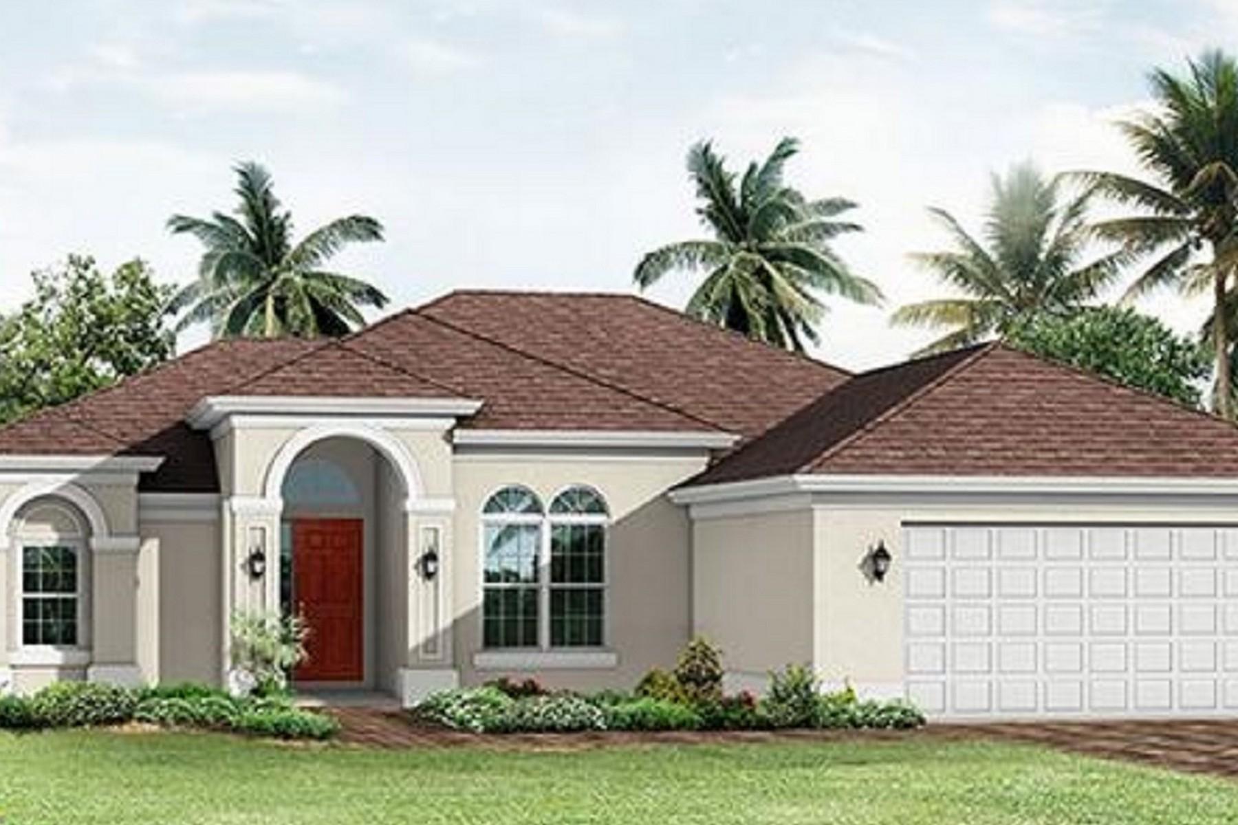独户住宅 为 销售 在 Lovely Home 5812 N Dooley Circle 圣露西港, 佛罗里达州, 34953 美国
