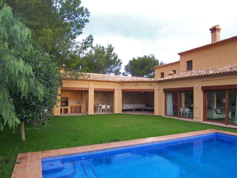 단독 가정 주택 용 매매 에 Exclusive villa with stunning views Olta Benissa, Alicante Costa Blanca 03720 스페인