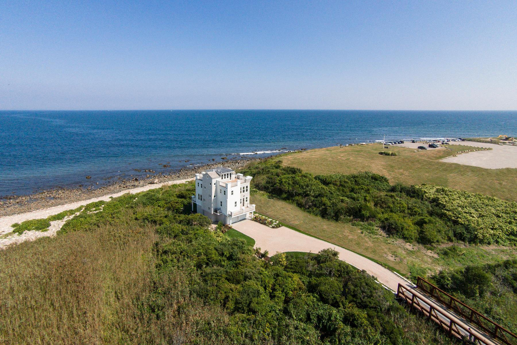 Moradia para Venda às Surrounded by the Sea 1444 Ocean Road Narragansett, Rhode Island 02882 Estados Unidos