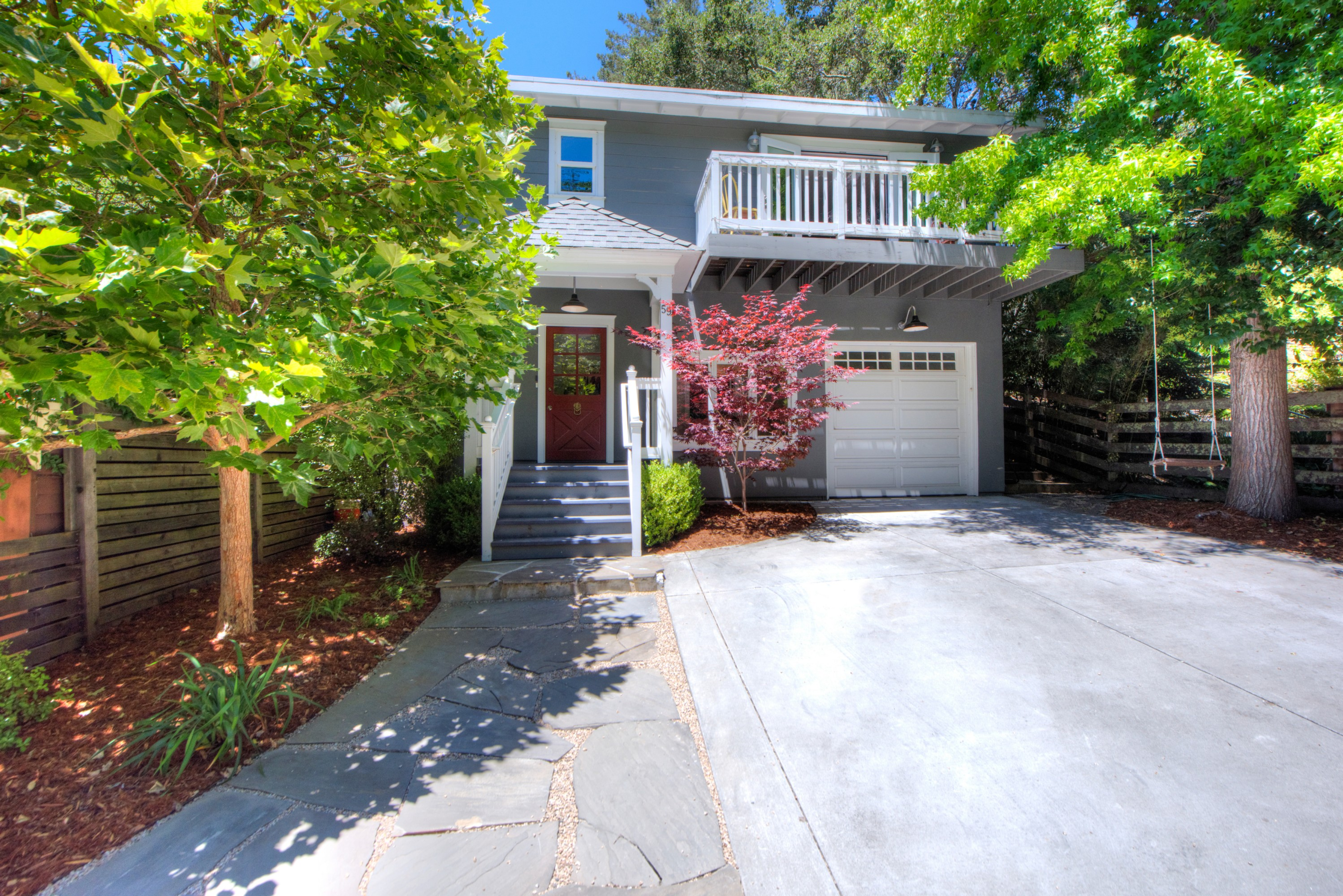 Single Family Home for Sale at Sunny and Cheerful in Downtown Mill Valley 59 Eldridge Avenue Mill Valley, California, 94941 United States