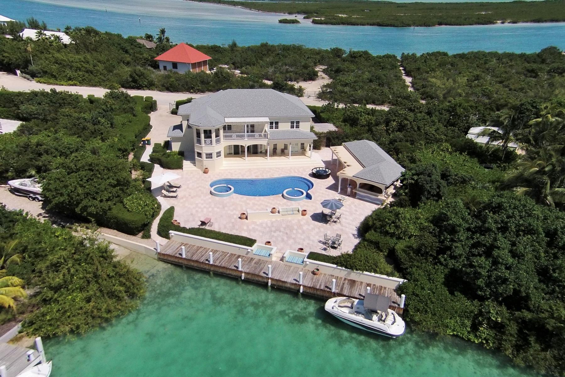 Casa para uma família para Venda às Rafters Leeward, Providenciales Turks E Caicos