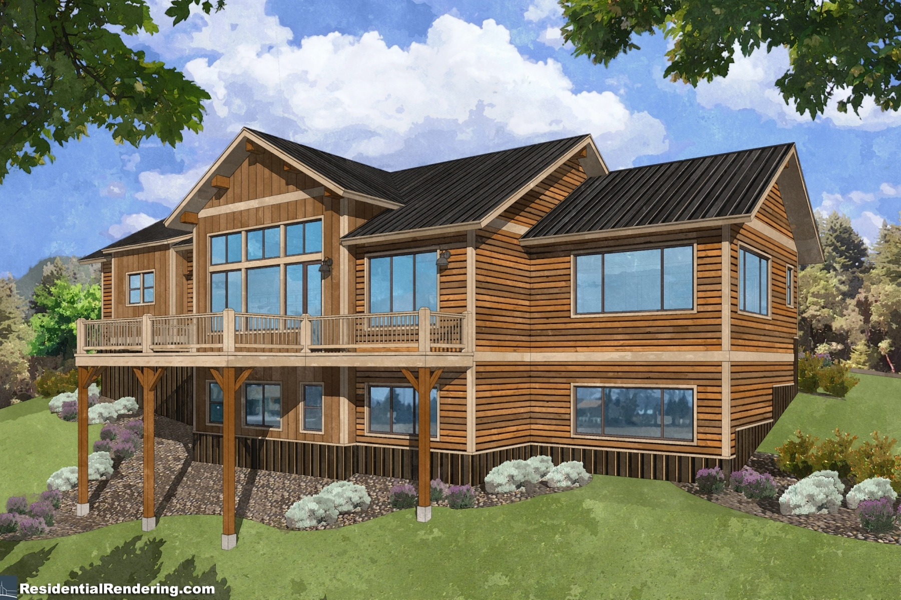 Maison unifamiliale pour l Vente à Ski-inSki-out New Construction 7 Silver Lane Mount Crested Butte, Colorado, 81225 États-Unis