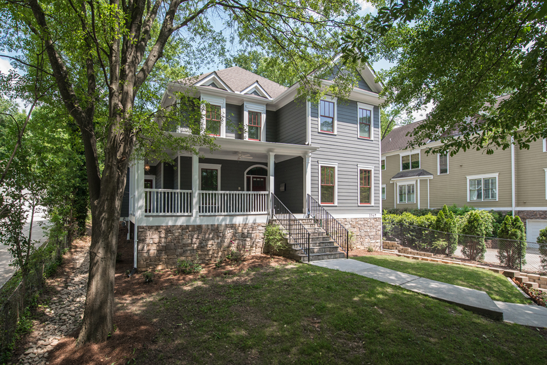 Single Family Home for Sale at Exceptional Candler Park Home - Better Than New! 1369 Euclid Avenue NE Candler Park, Atlanta, Georgia 30307 United States