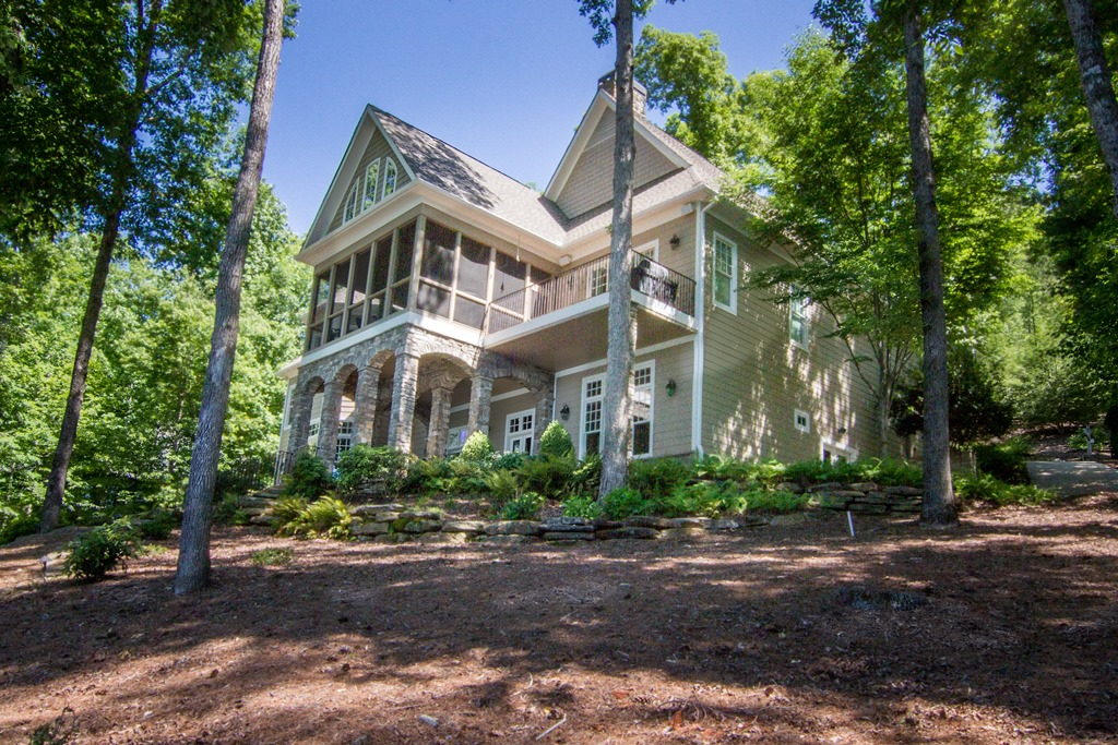Single Family Home for Sale at Architecturally Designed Waterfront Home has Beautiful Lake & Mountain Views 117 Burwood Court The Reserve At Lake Keowee, Sunset, South Carolina 29685 United States