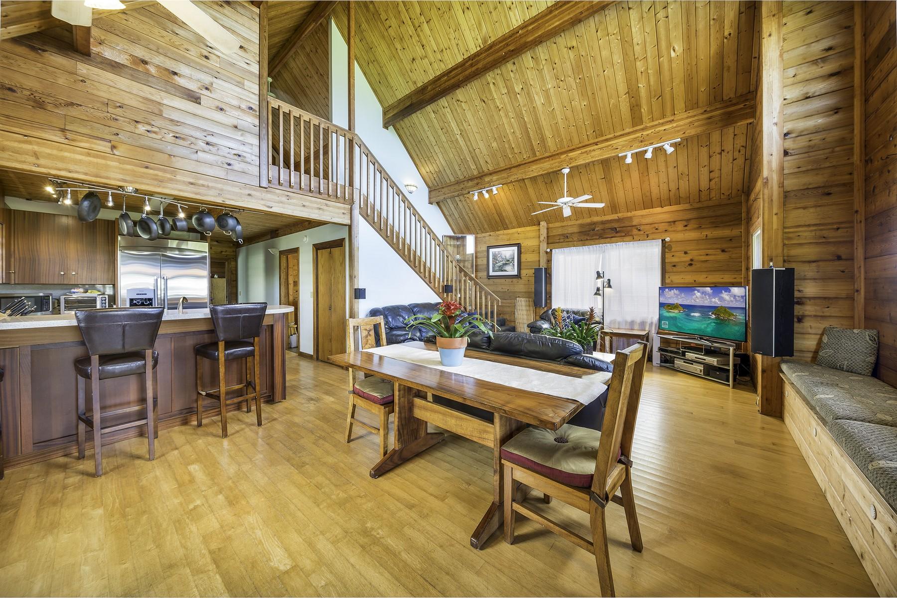 Einfamilienhaus für Verkauf beim Custom Cedar Home in Enchanted Lake 423 Keolu Dr Kailua, Hawaii, 96734 Vereinigte Staaten