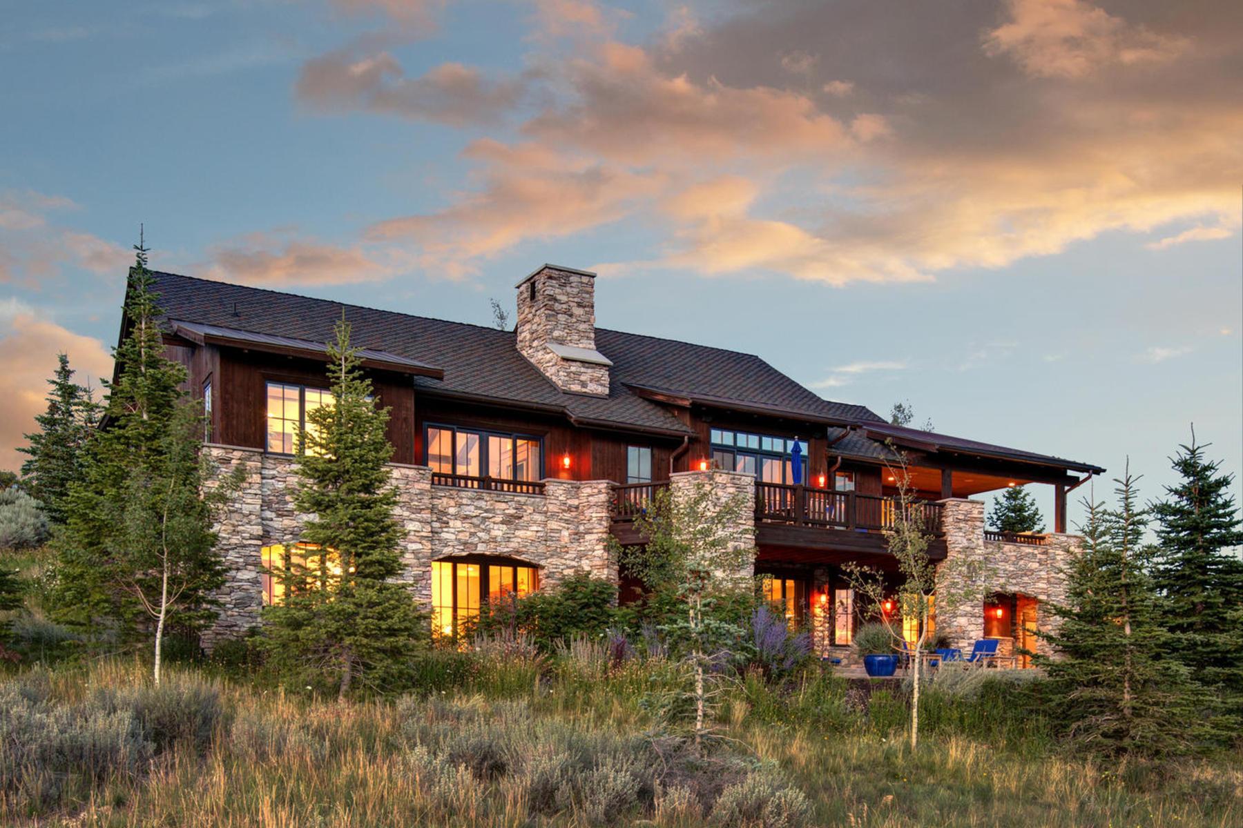 Maison unifamiliale pour l Vente à Huge Ski Resort Mountain and Golf Views – Deer Crossing/Promontory 8609 N Marmot Cir Lot 92 Park City, Utah 84098 États-Unis