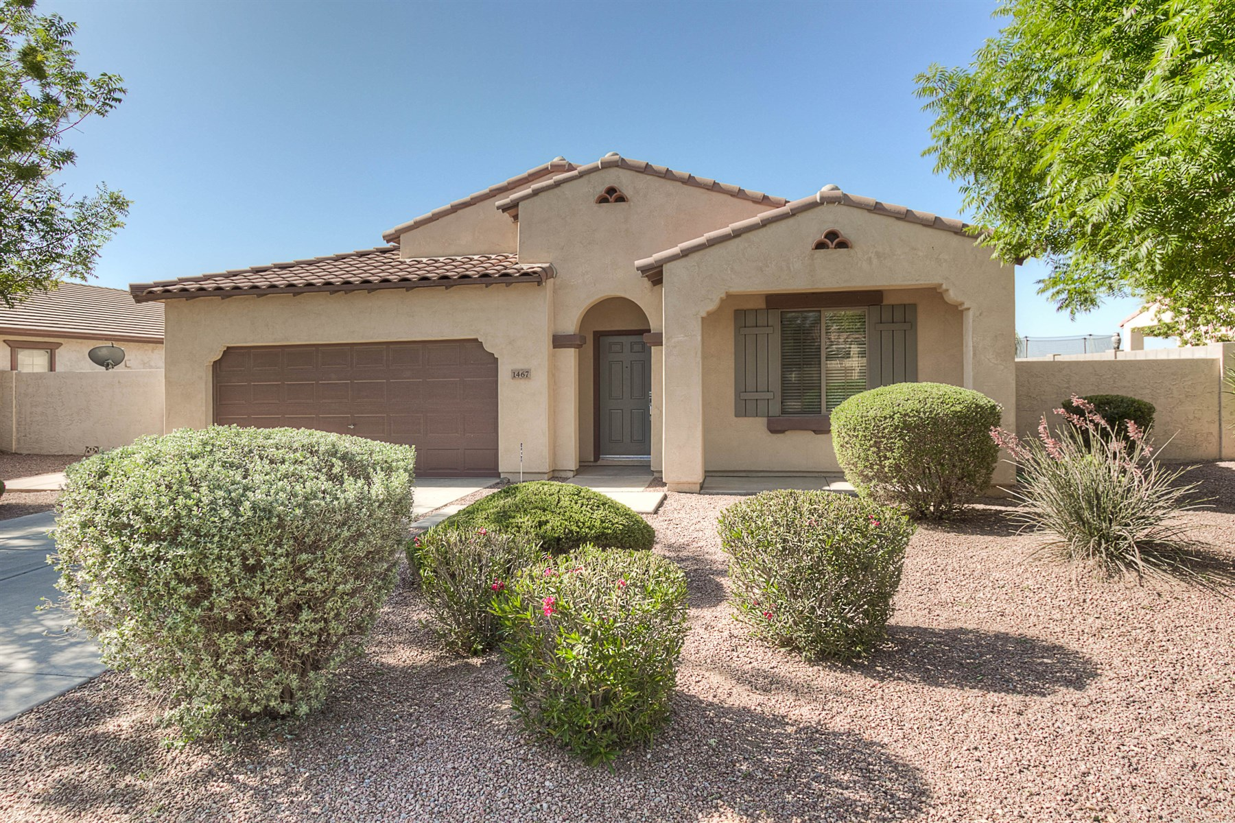 sales property at Beautiful single level in great gilbert neighborhood