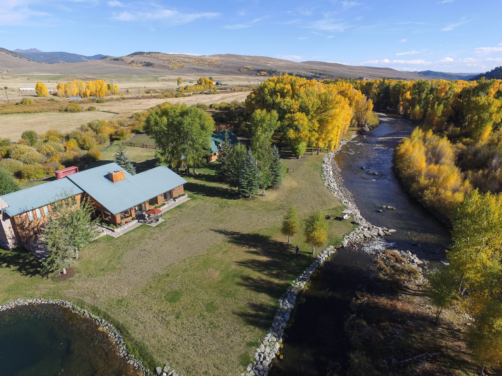 Farm / Ranch / Plantation for Sale at Spectacular Retreat on the East River 15533 State Highway 135 Almont, Colorado, 81210 United States