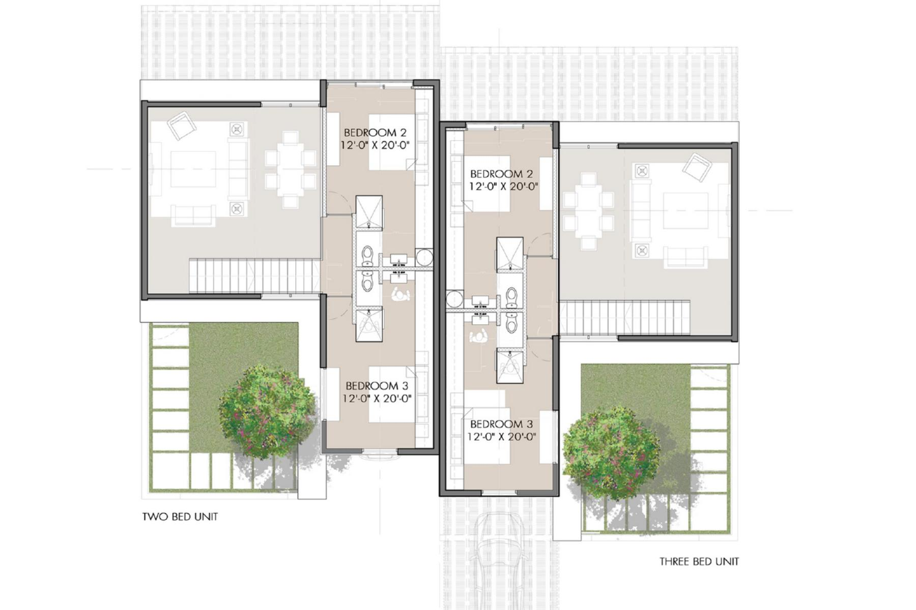 Additional photo for property listing at Sunset Beach Villas - Design A Gardenview Leeward, Провиденсьялес TC Теркс И Кайкос