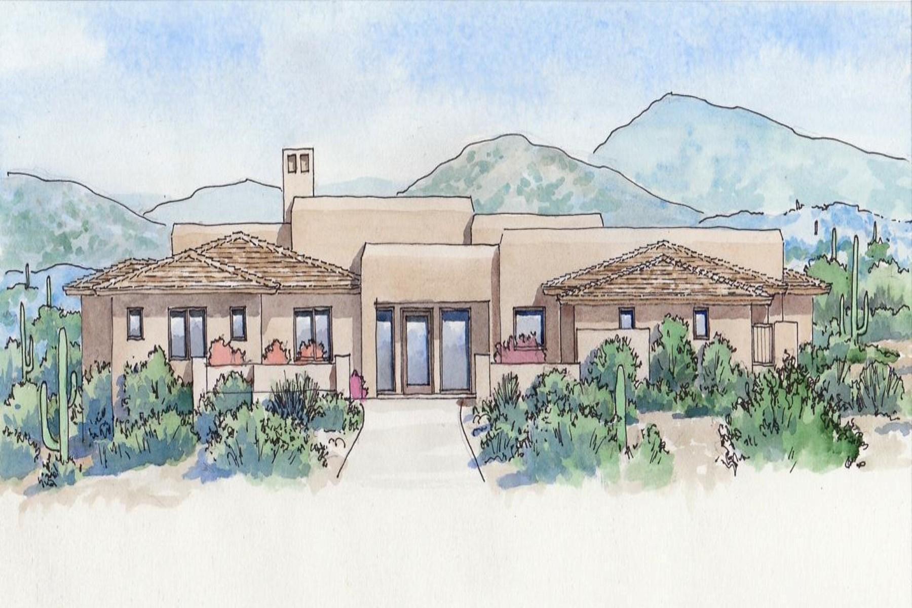 단독 가정 주택 용 매매 에 Brand new Mortensen Signature Home 10238 E Rising Sun Dr #337 Scottsdale, 아리조나 85262 미국