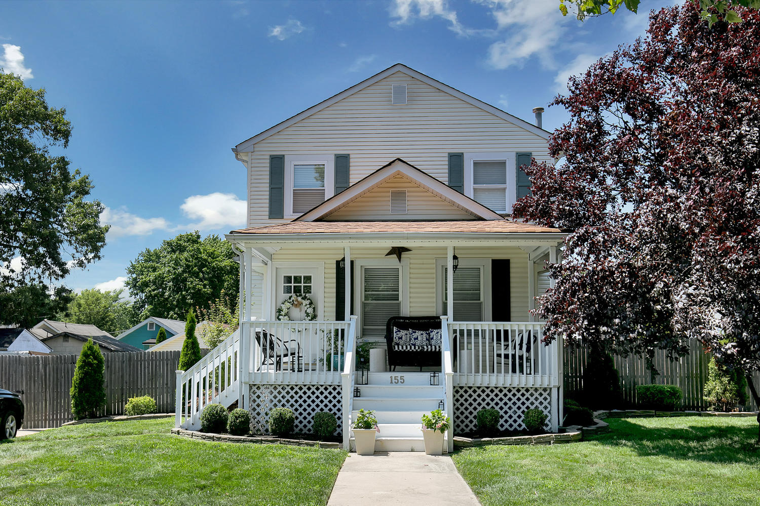 Single Family Home for Sale at Chic Classic Colonial 155 Mabel Ave. Middletown, New Jersey, 07748 United States