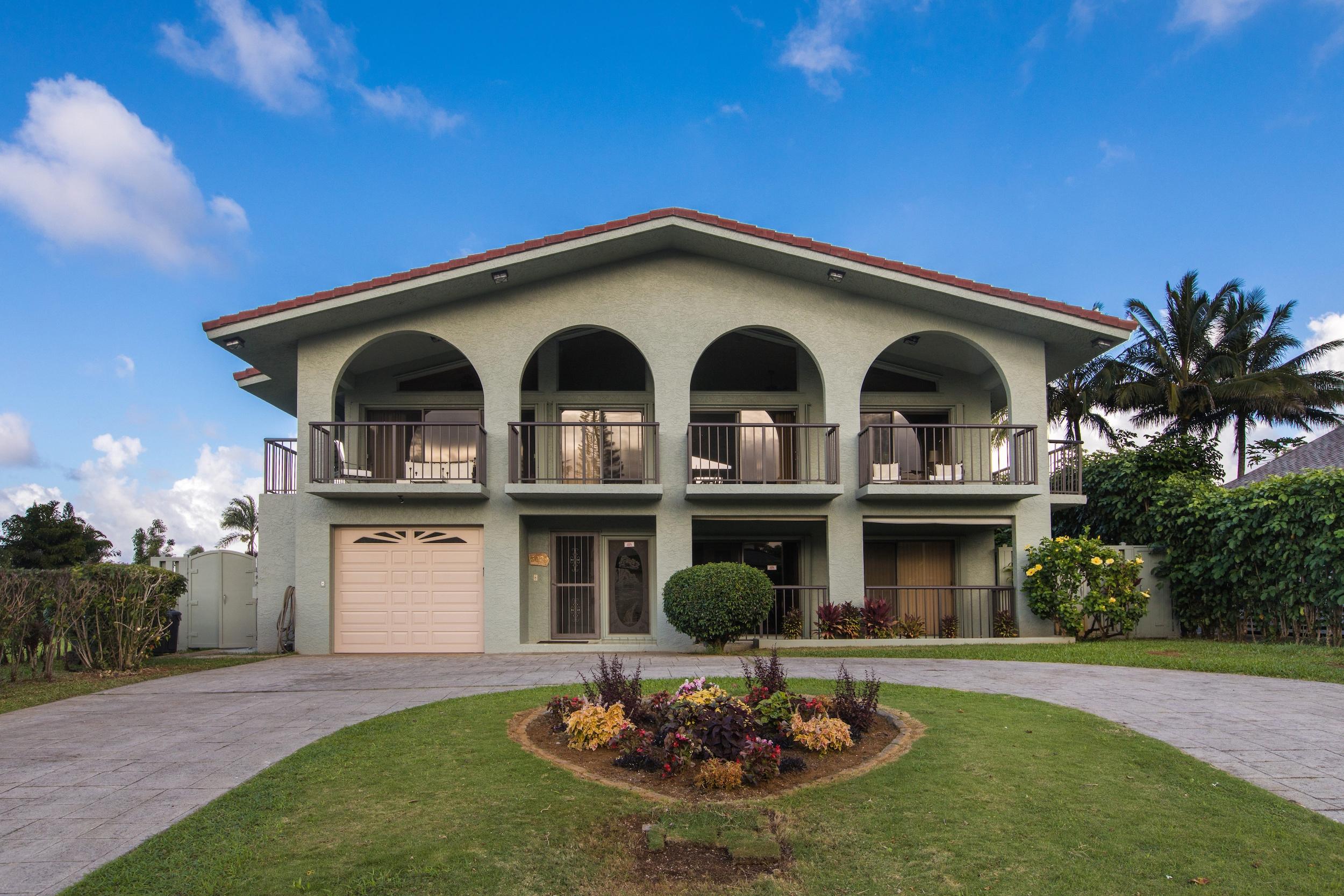 단독 가정 주택 용 매매 에 Princeville 5029 Emmalani Dr Princeville, 하와이, 96722 미국