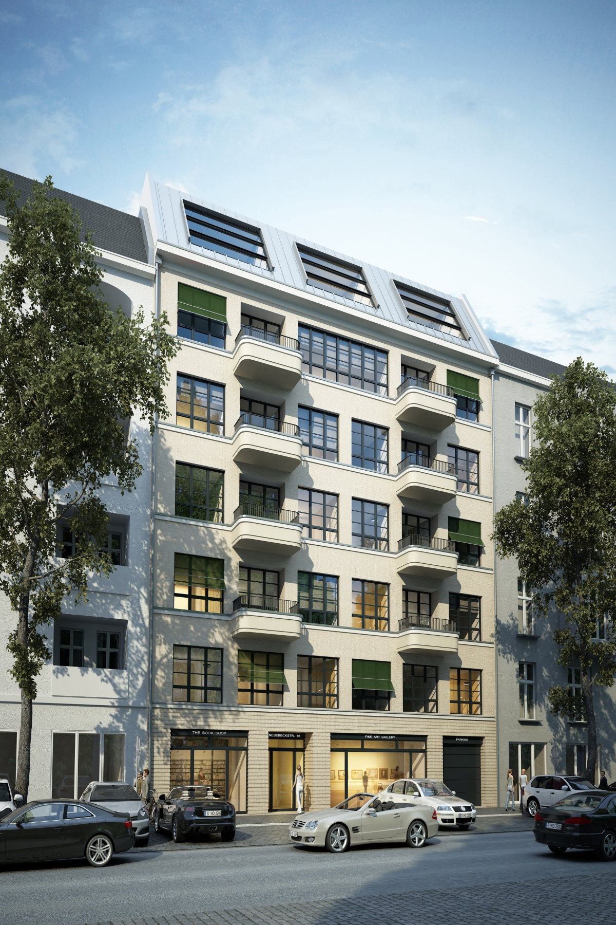 "Apartamento para Venda às ""City-House Hugo"" Modern Architecture in the Heart of Berlin! Berlin, Berlim, 10623 Alemanha"