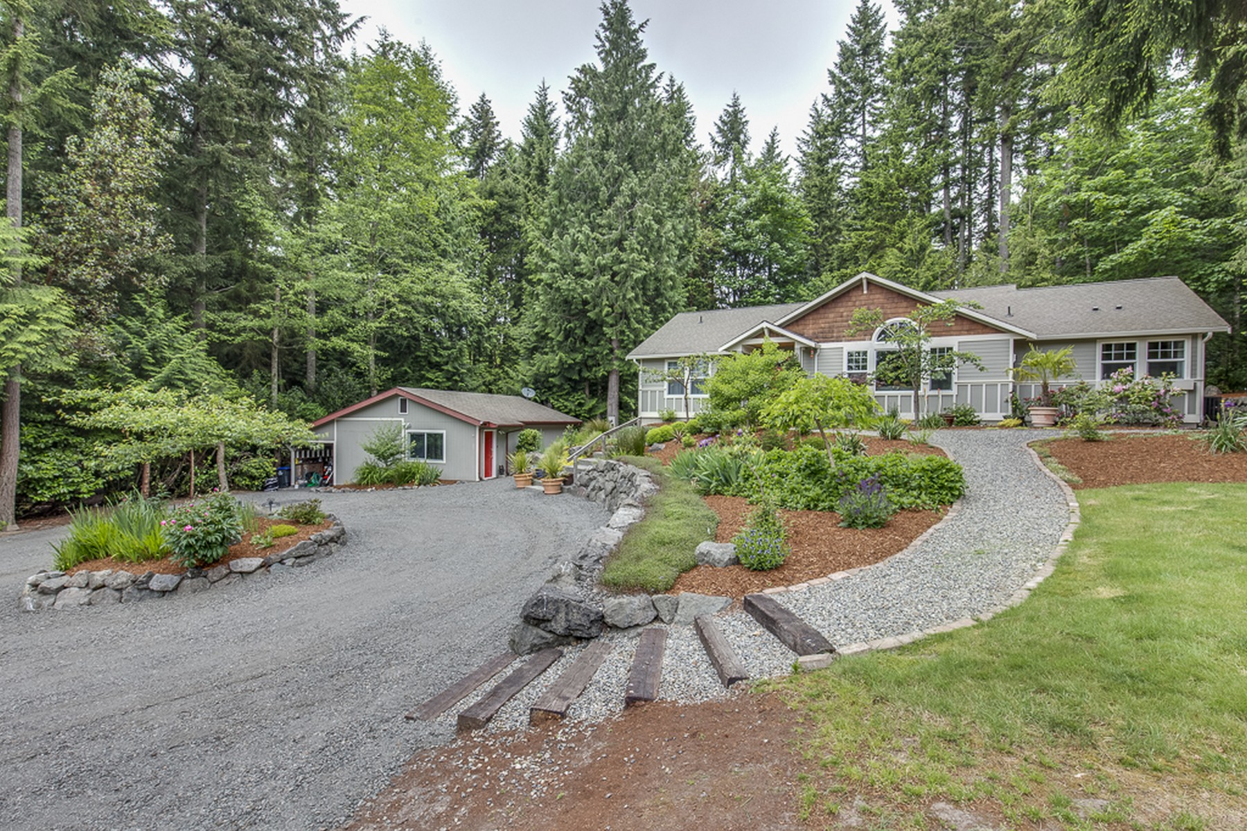 Single Family Home for Sale at Baker HIll Rambler 8280 Baker HIll Road NE Bainbridge Island, Washington 98110 United States