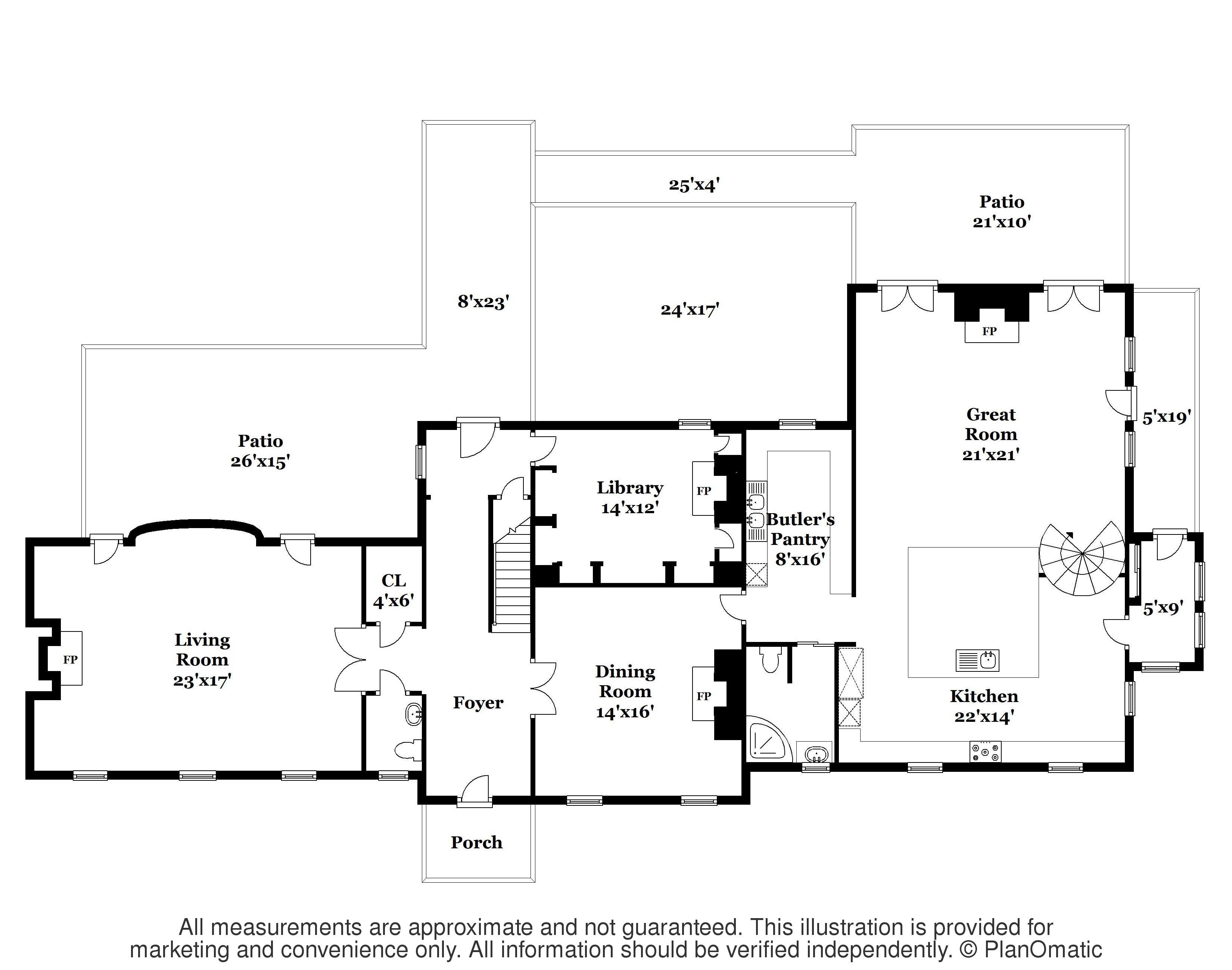 Maison unifamiliale pour l Vente à Bespoke Finishes, And A Designer's Touch - Lawrence Township 4574 Province Line Rd Princeton, New Jersey 08540 États-Unis