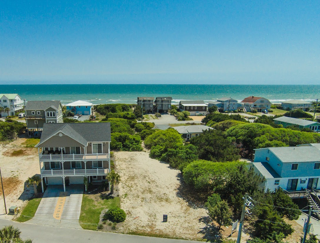Land for Sale at Desirable lot with pier already in place 121 Bridgers Ave. Topsail Beach, North Carolina, 28445 United States