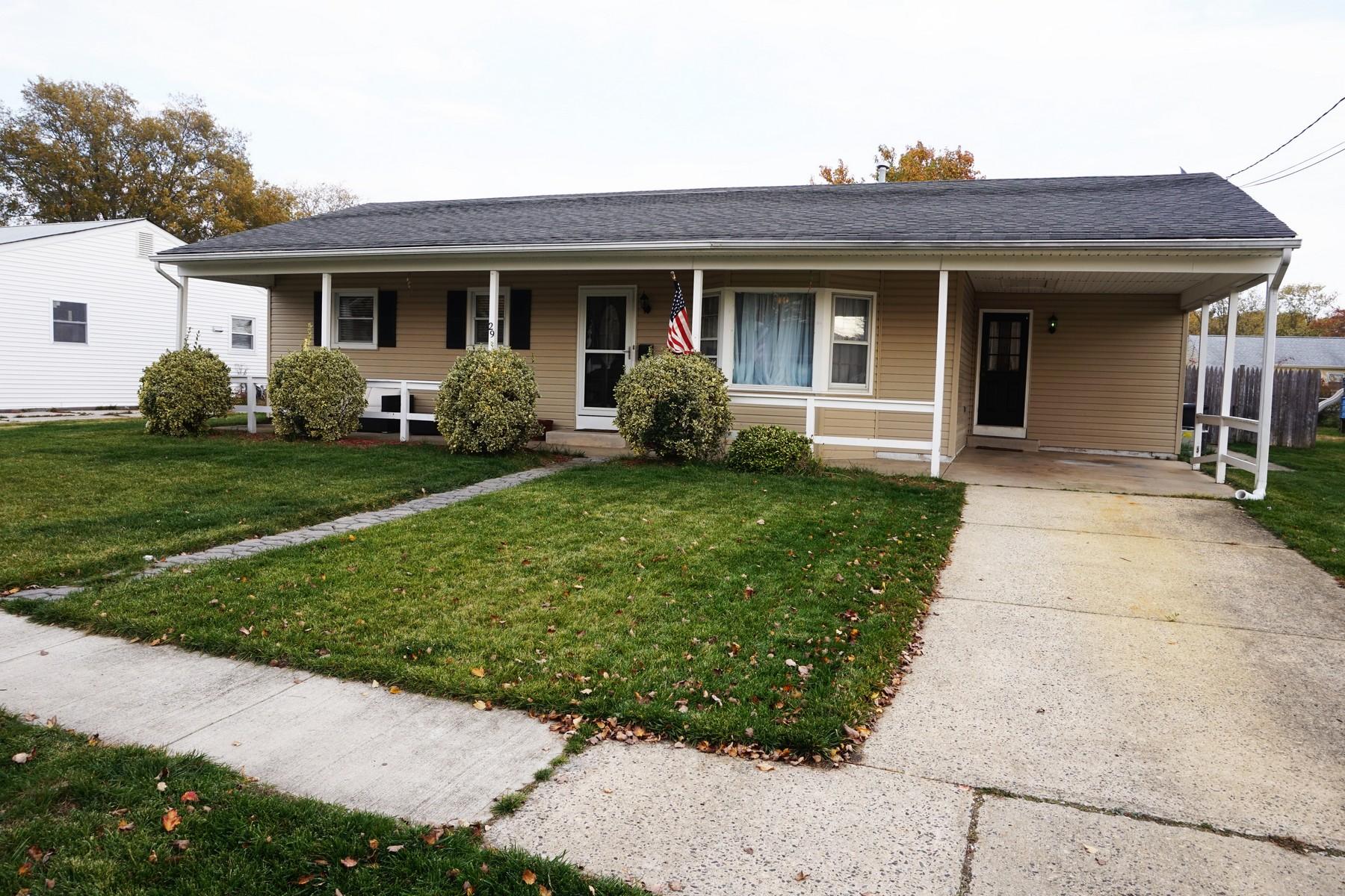 独户住宅 为 销售 在 Perfect Starter Home 29 Gulph Mill Road Somers Point, 08244 美国