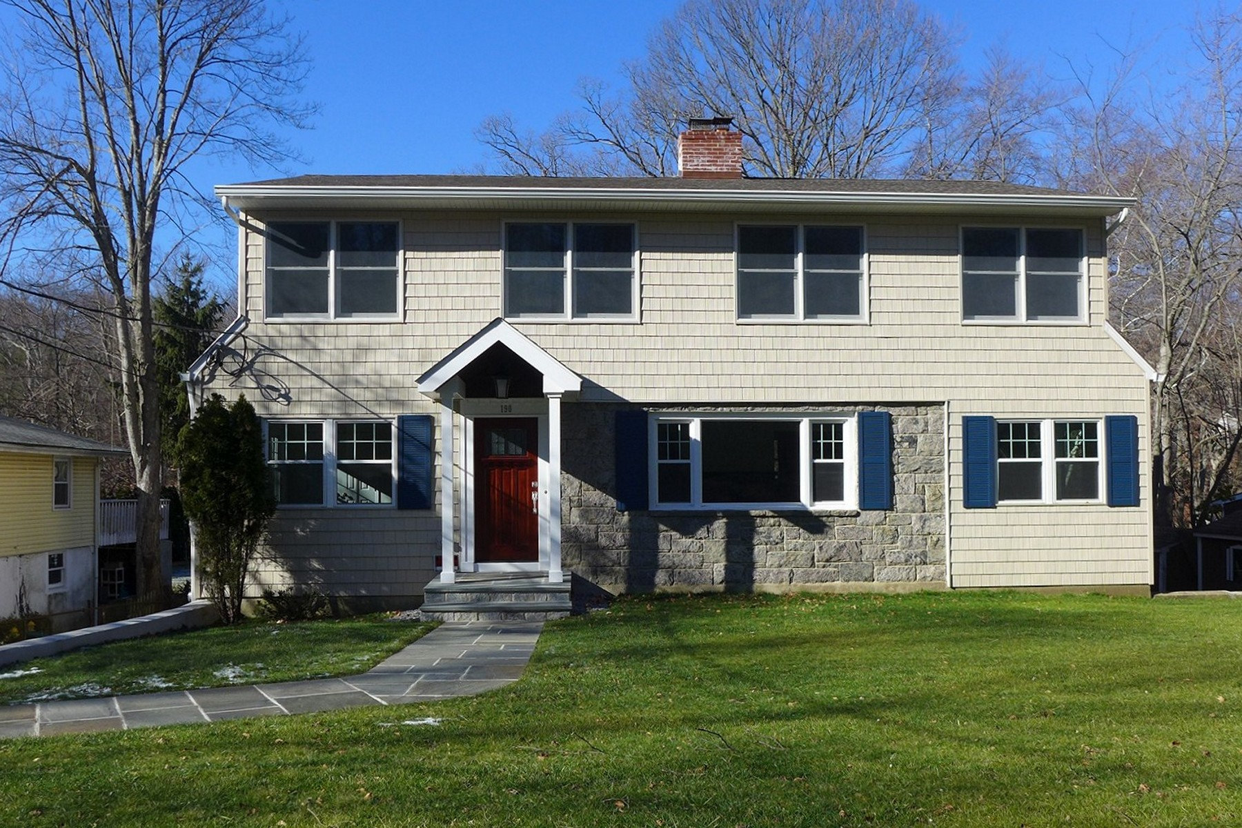 Single Family Home for Sale at Sun Filled Lake Views 190 Lake Shore Drive Pleasantville, New York 10570 United States