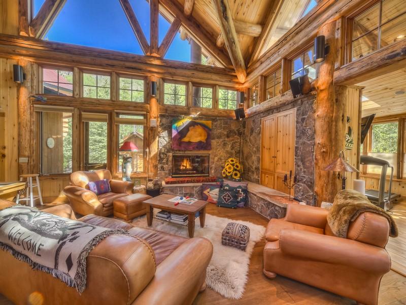 Частный односемейный дом для того Продажа на 1718 Ophir Road Ophir, Колорадо 81426 Соединенные Штаты