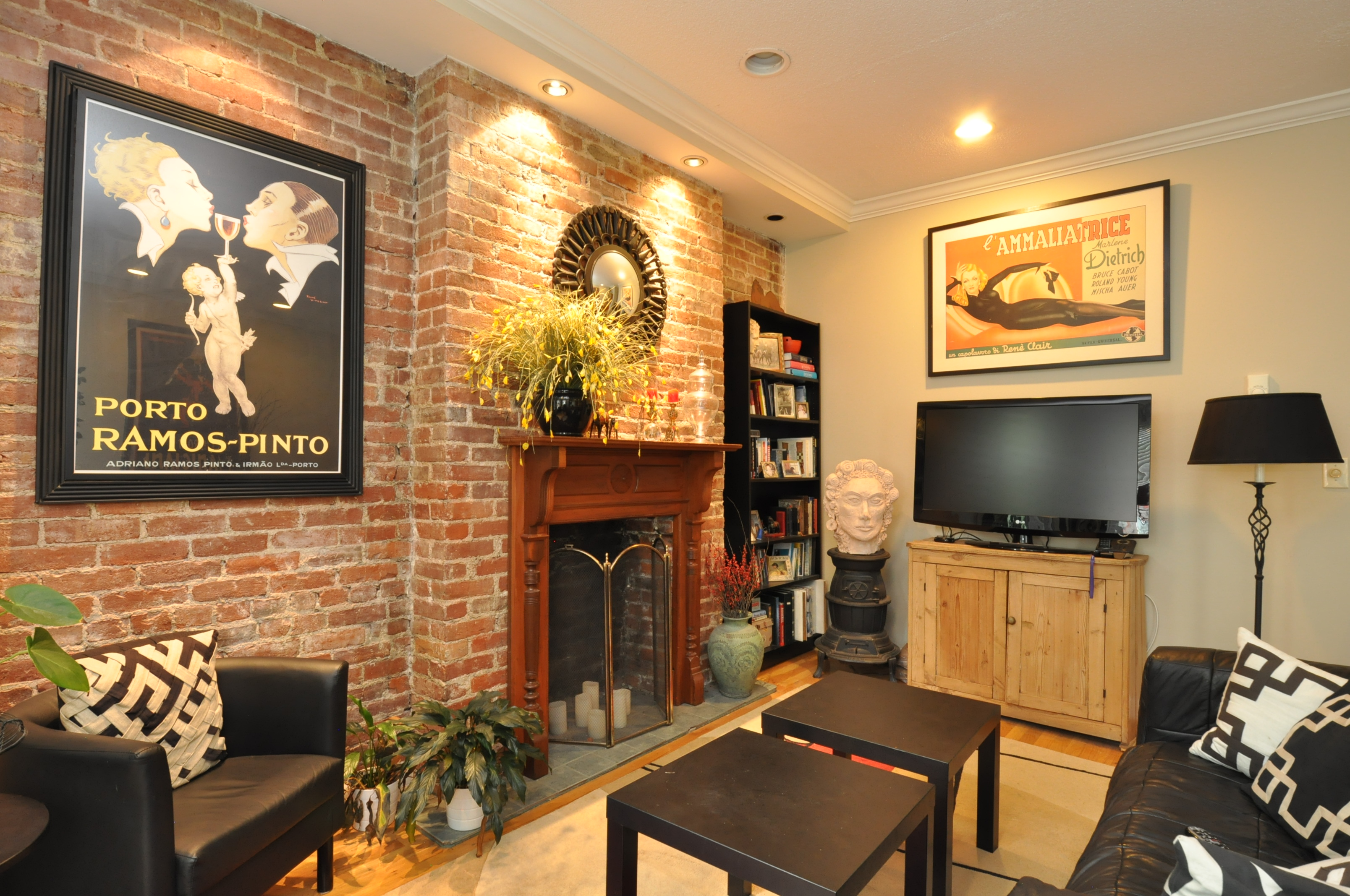 Condominium for Sale at Stunning Brownstone Unit in South End 15 Follen Street Unit 3 Boston, Massachusetts 02116 United States