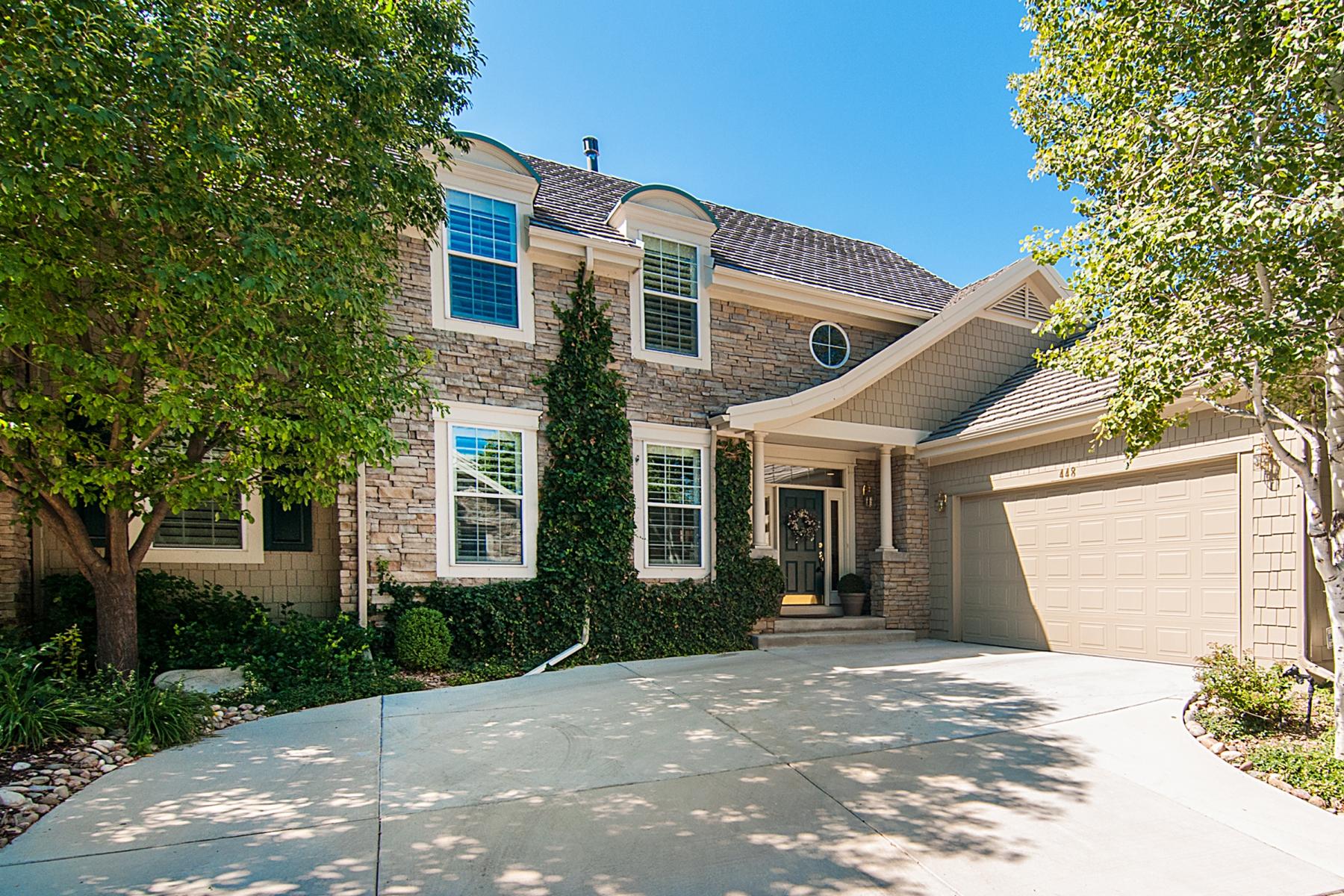 Single Family Home for Sale at Villas at Cherry Hills 4545 S Monaco Street Unit 448 Denver, Colorado 80237 United States