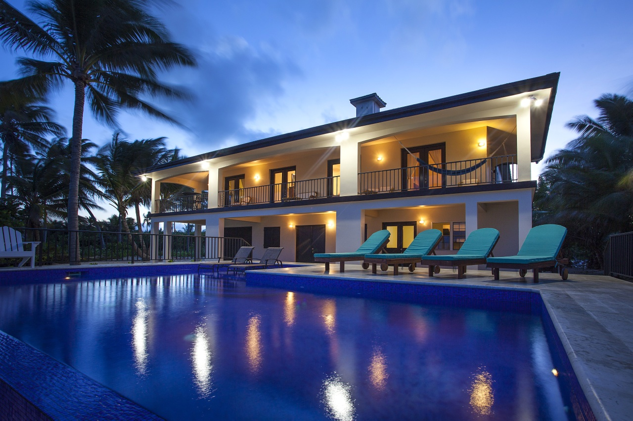 Single Family Home for Rent at Water's Edge San Pedro Town, Ambergris Caye Belize