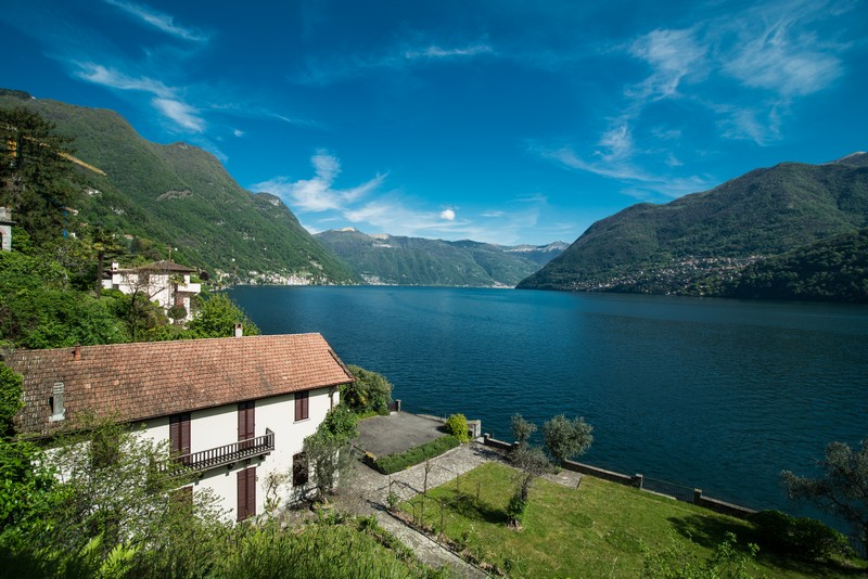Single Family Home for Sale at Historic villa in exclusive location on Lake Como Via Regina Laglio, Como 22010 Italy