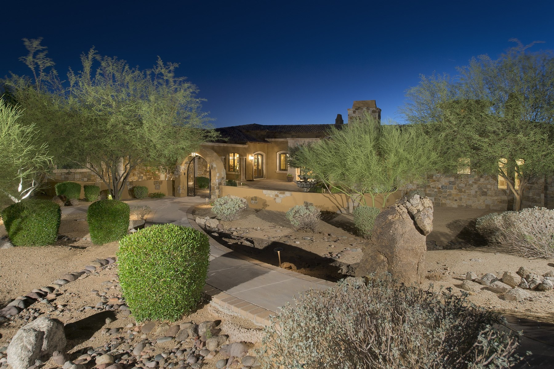 Single Family Home for Sale at The Essence of Italy in Las Sendas 4230 N Terra Mesa Mesa, Arizona 85207 United States