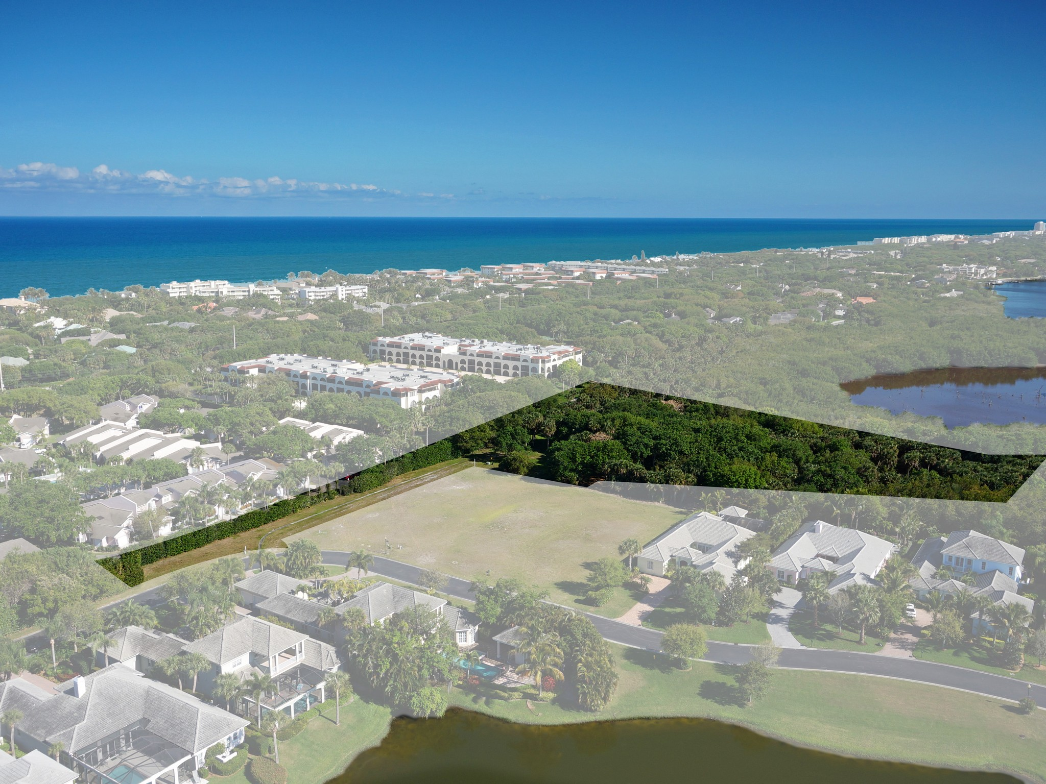 Terreno por un Venta en 2.3 Acre Homesite 240 Lakeview Way Vero Beach, Florida 32963 Estados Unidos